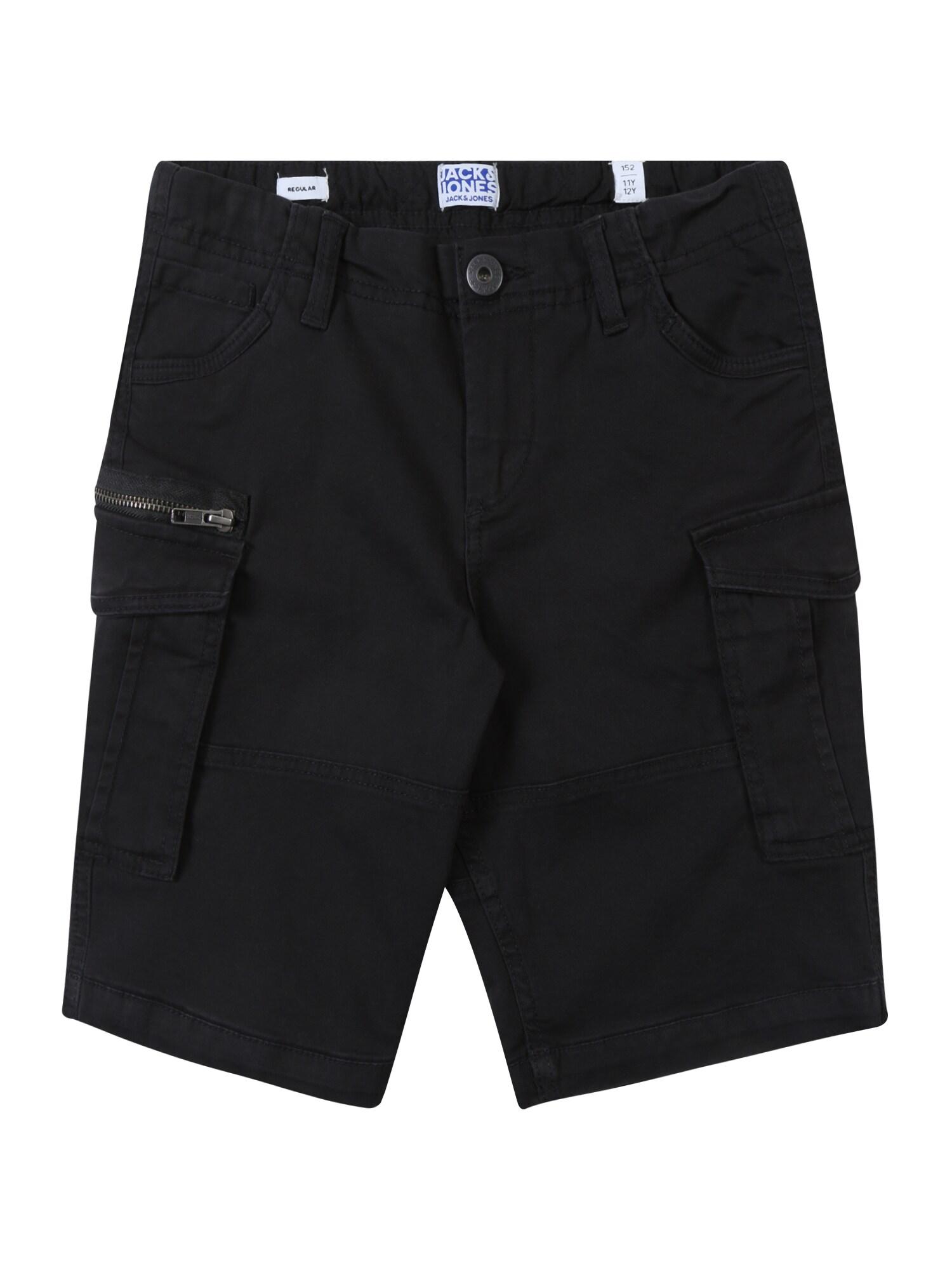 Kalhoty JJICHOP JJCARGO černá Jack & Jones Junior