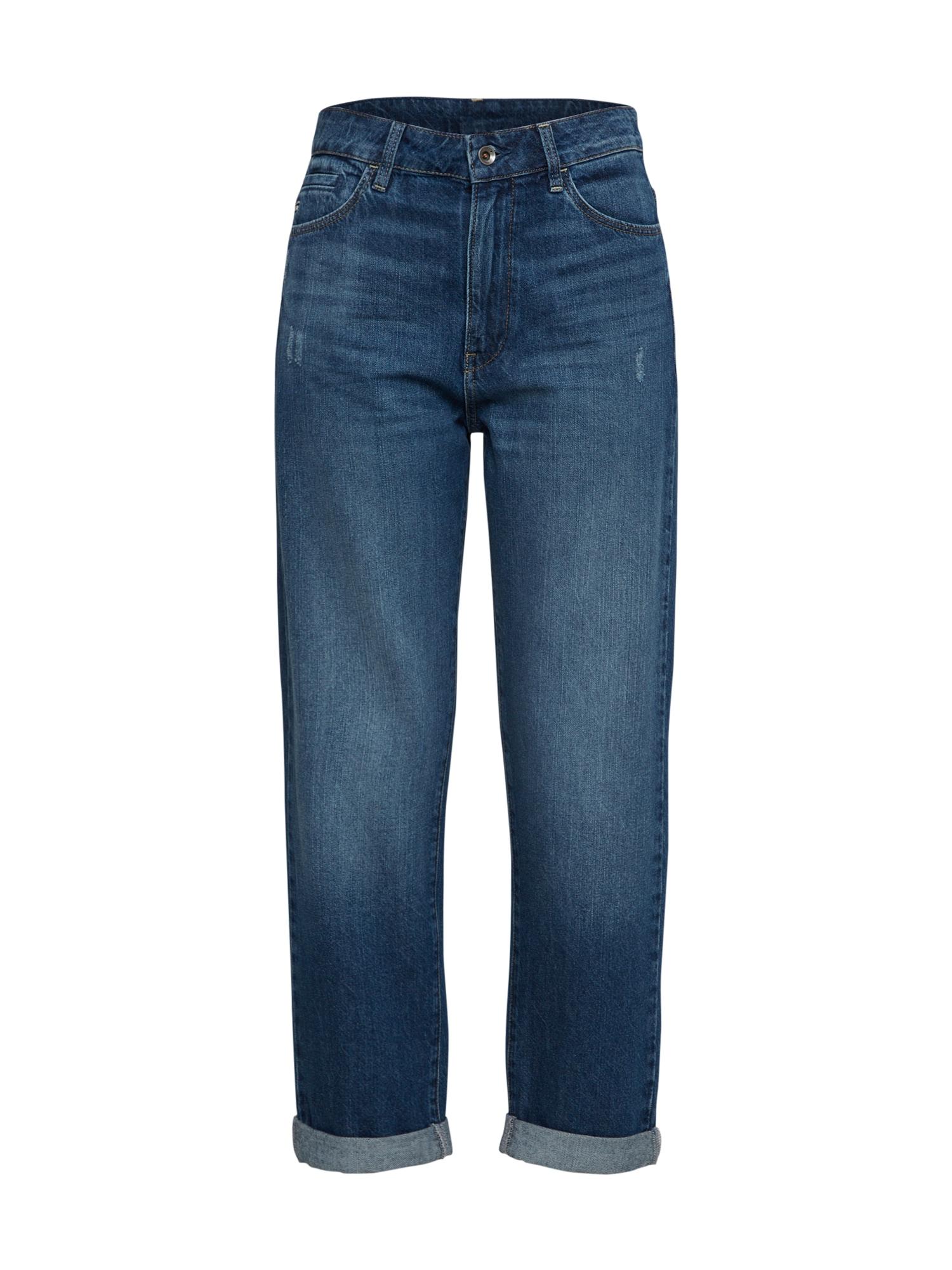 G-STAR RAW Dames Jeans Midge Deconst High Boyfriend blauw denim