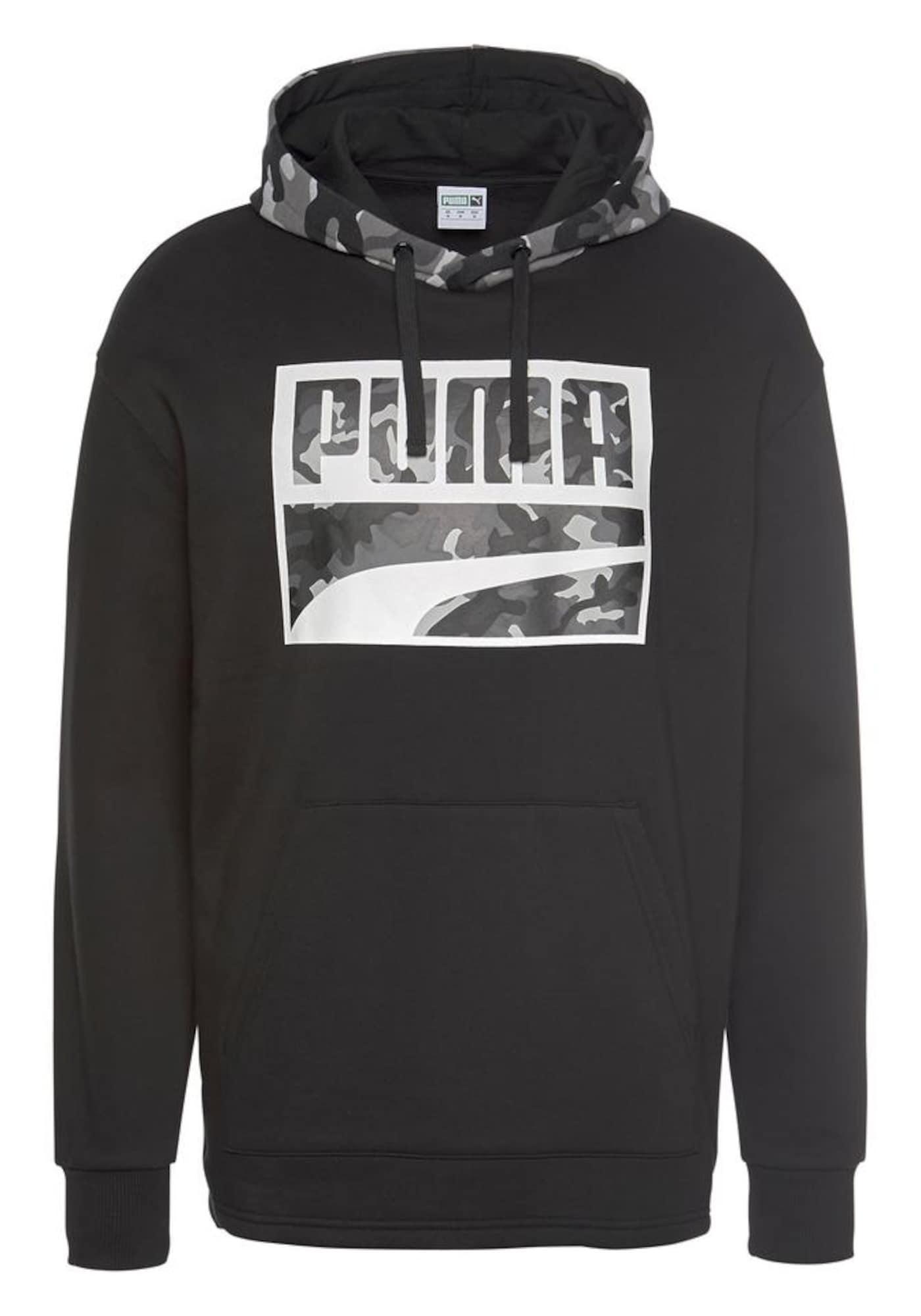 Kapuzensweatshirt | Bekleidung > Sweatshirts & -jacken > Sweatshirts | Grau - Schwarz - Weiß | Puma