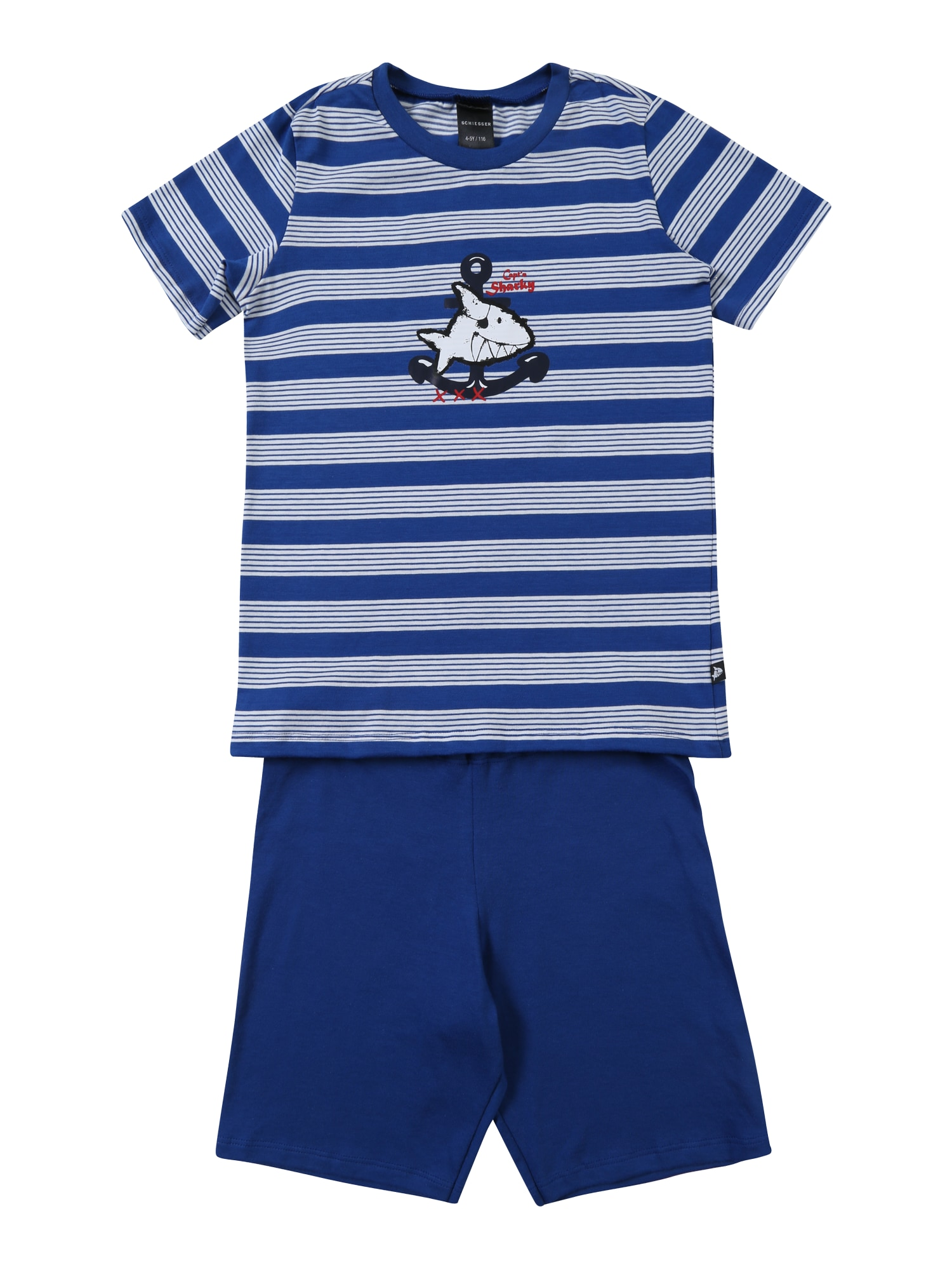 Pyžamo modrá opálová SCHIESSER
