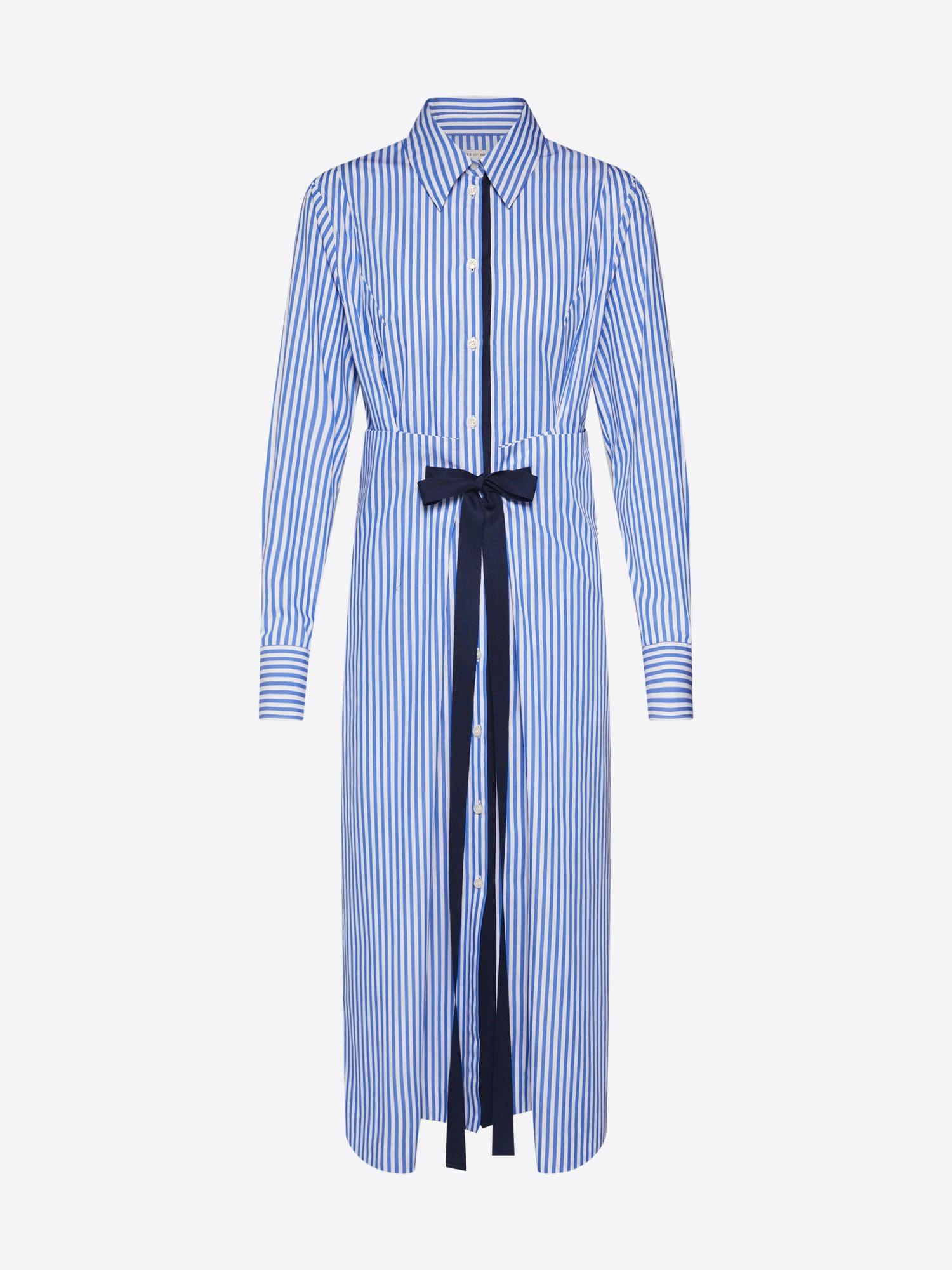 Košilové šaty Sydberg S modrá bílá Tiger Of Sweden