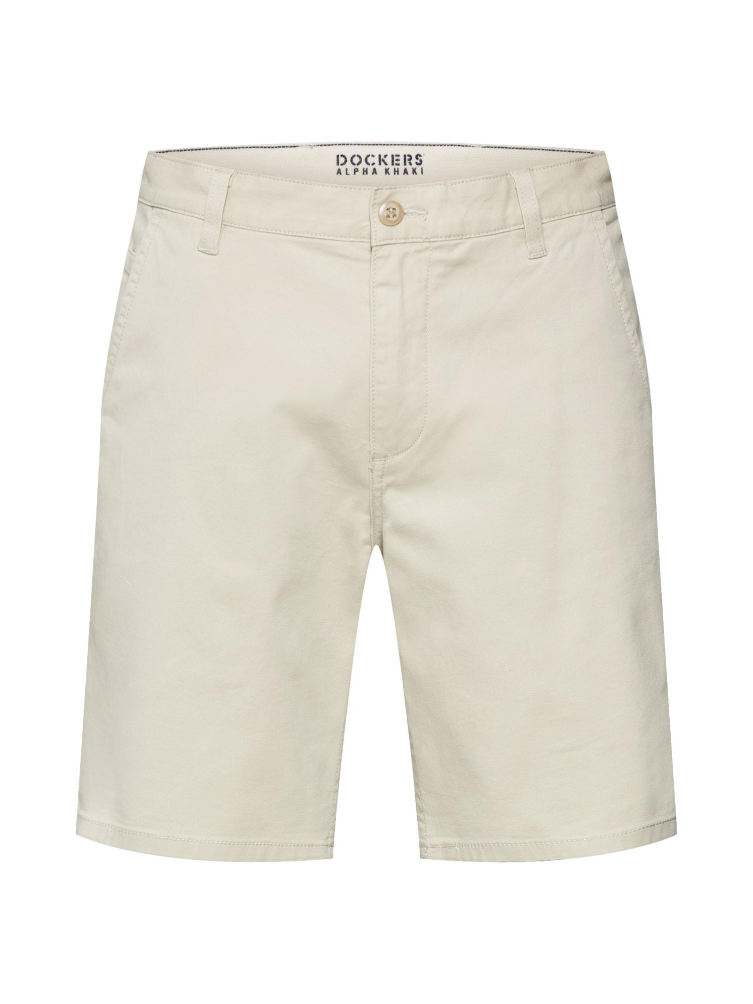 Chino kalhoty ALPHA SHORT - STRETCH TWILL béžová Dockers
