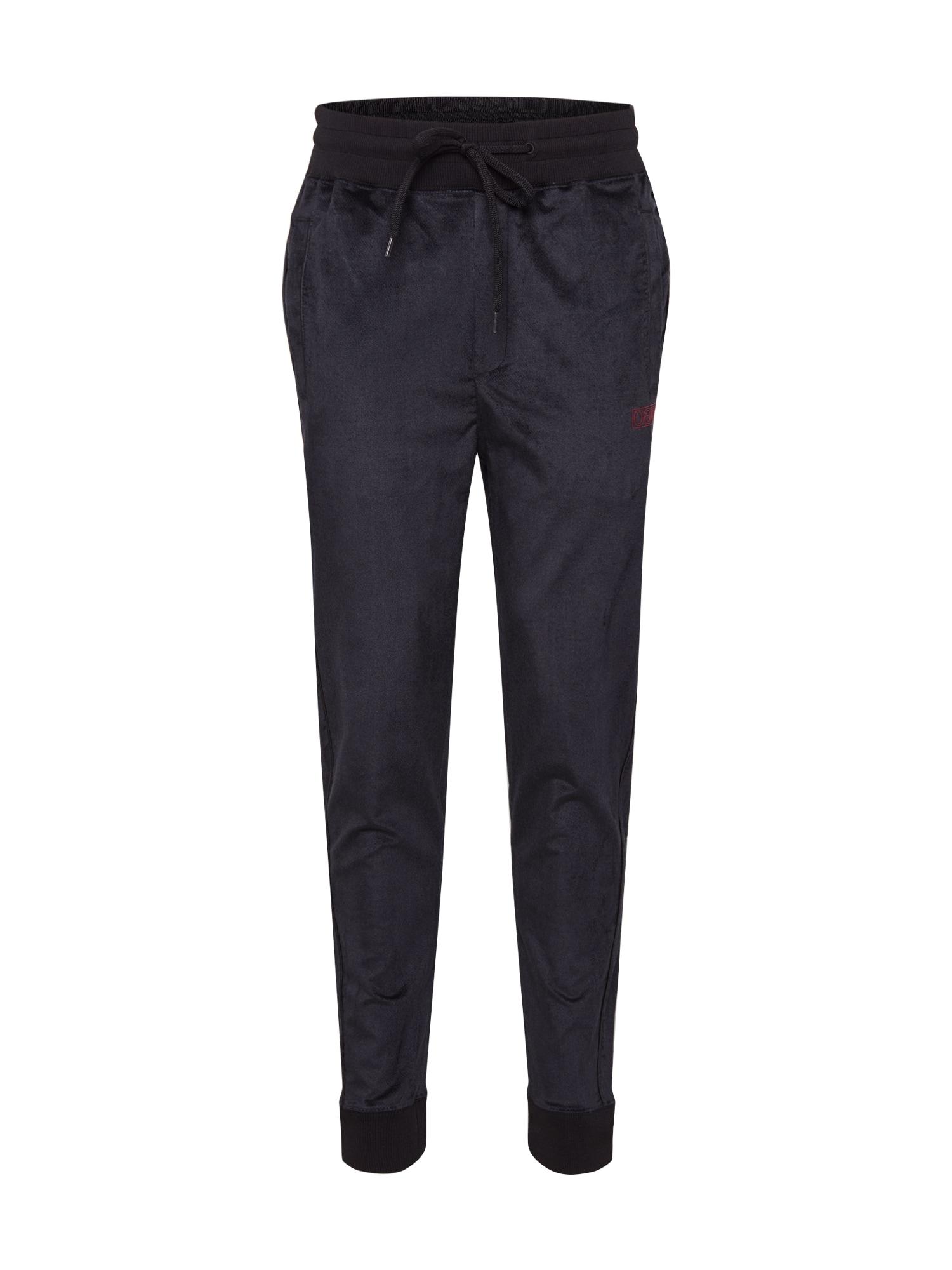 HUGO Kalhoty 'Dechi'  černá