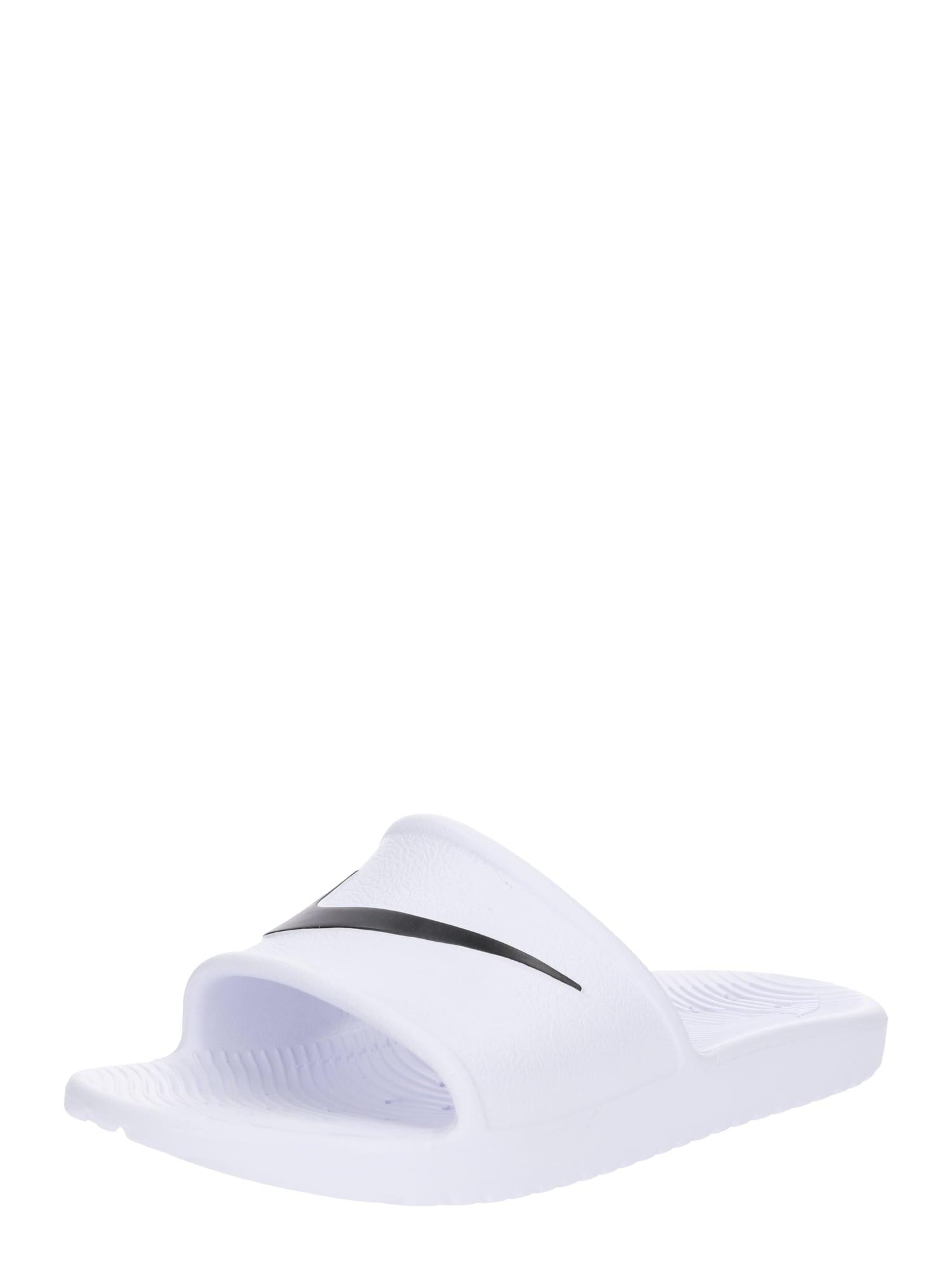 Plážovákoupací obuv Womens Kawa Shower černá bílá NIKE
