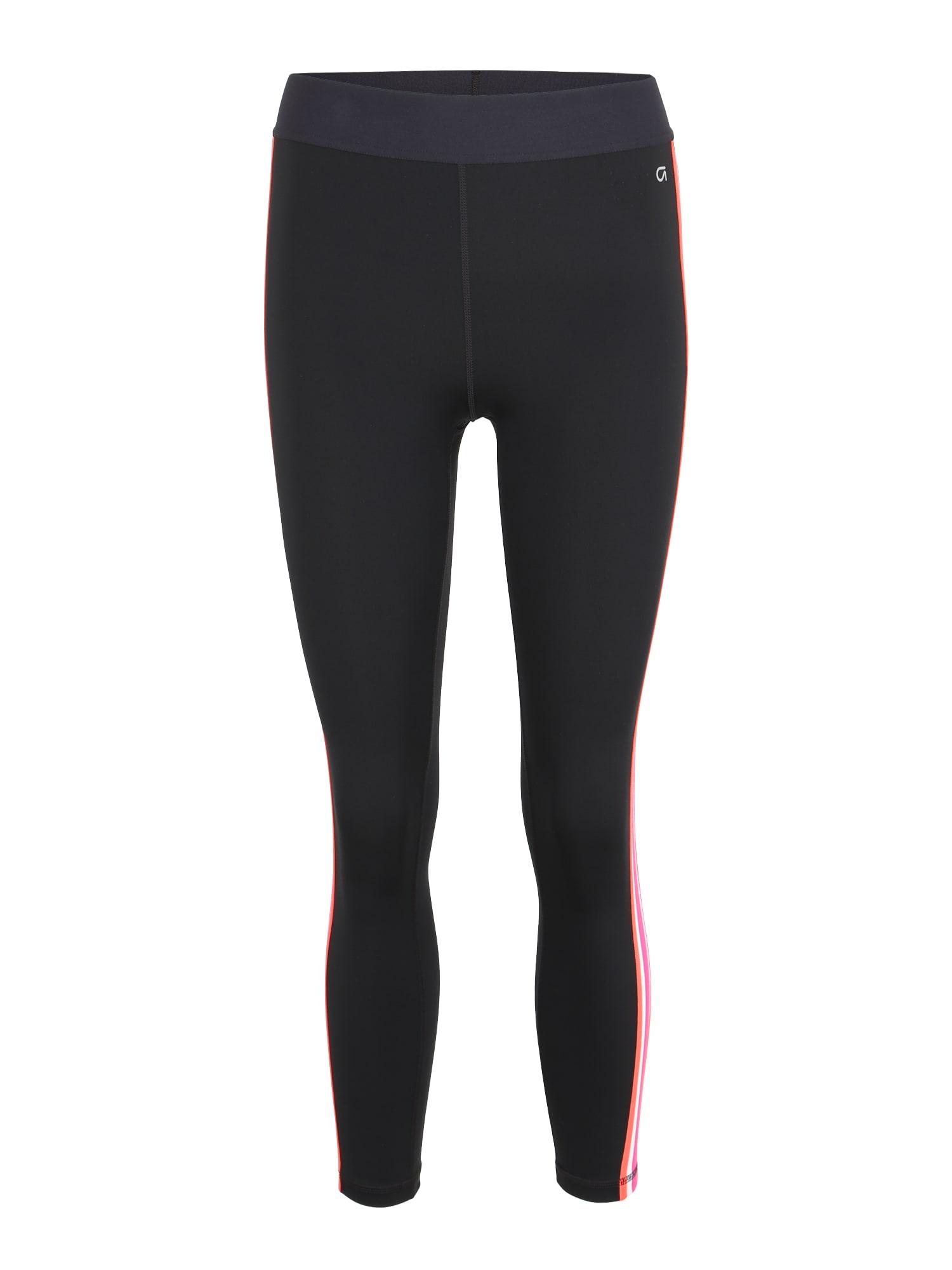 Sportovní kalhoty pink černá GAP