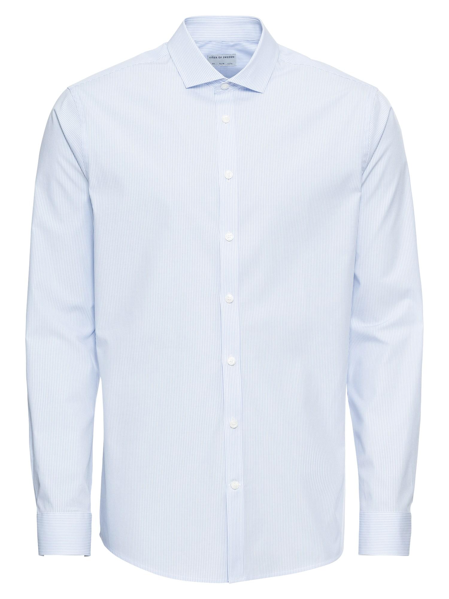 Košile Filliam světlemodrá bílá Tiger Of Sweden