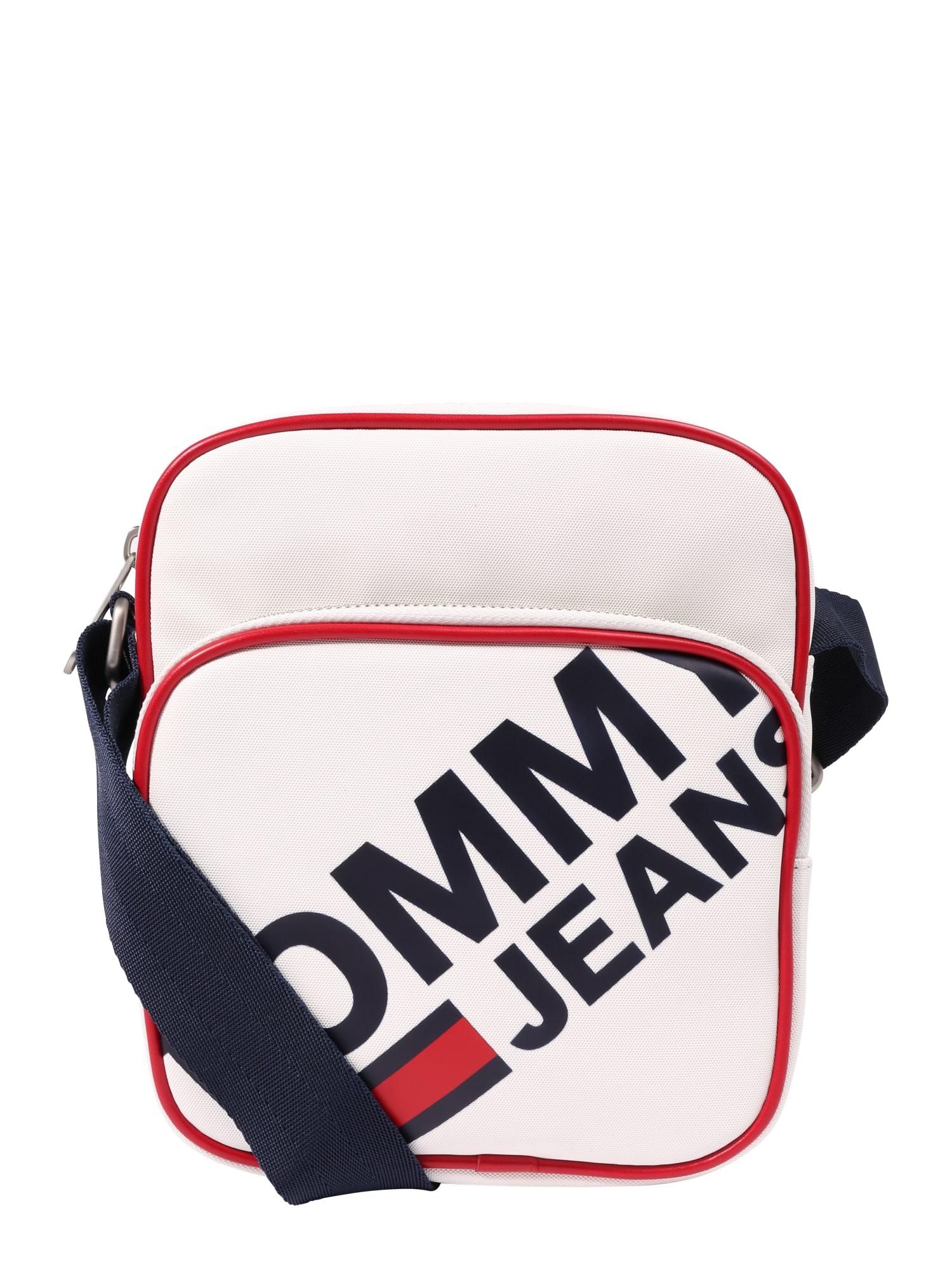 Taška přes rameno TJM MODERN PREP MINI REPORTER bílá Tommy Jeans