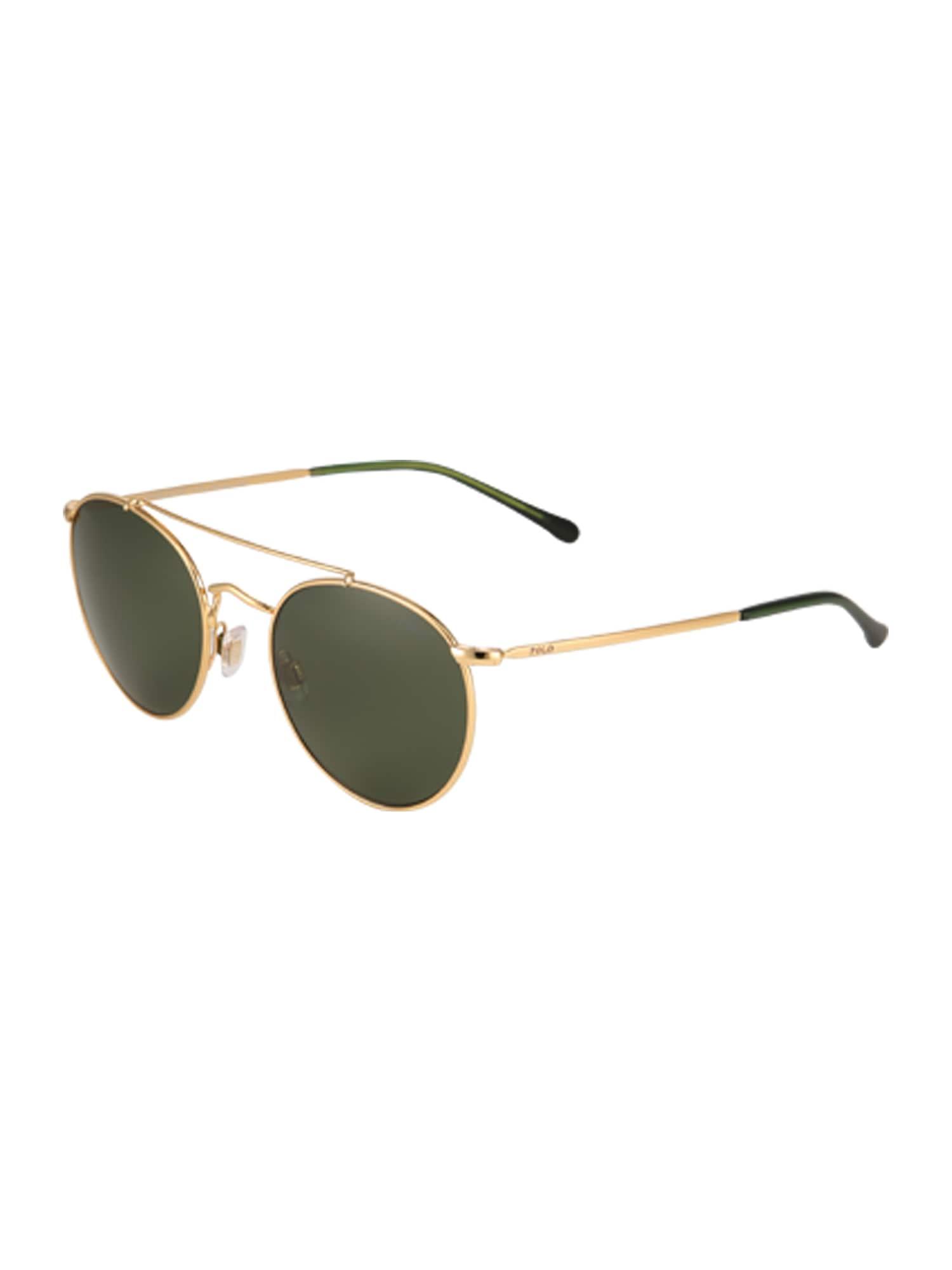 Sluneční brýle zlatá POLO RALPH LAUREN