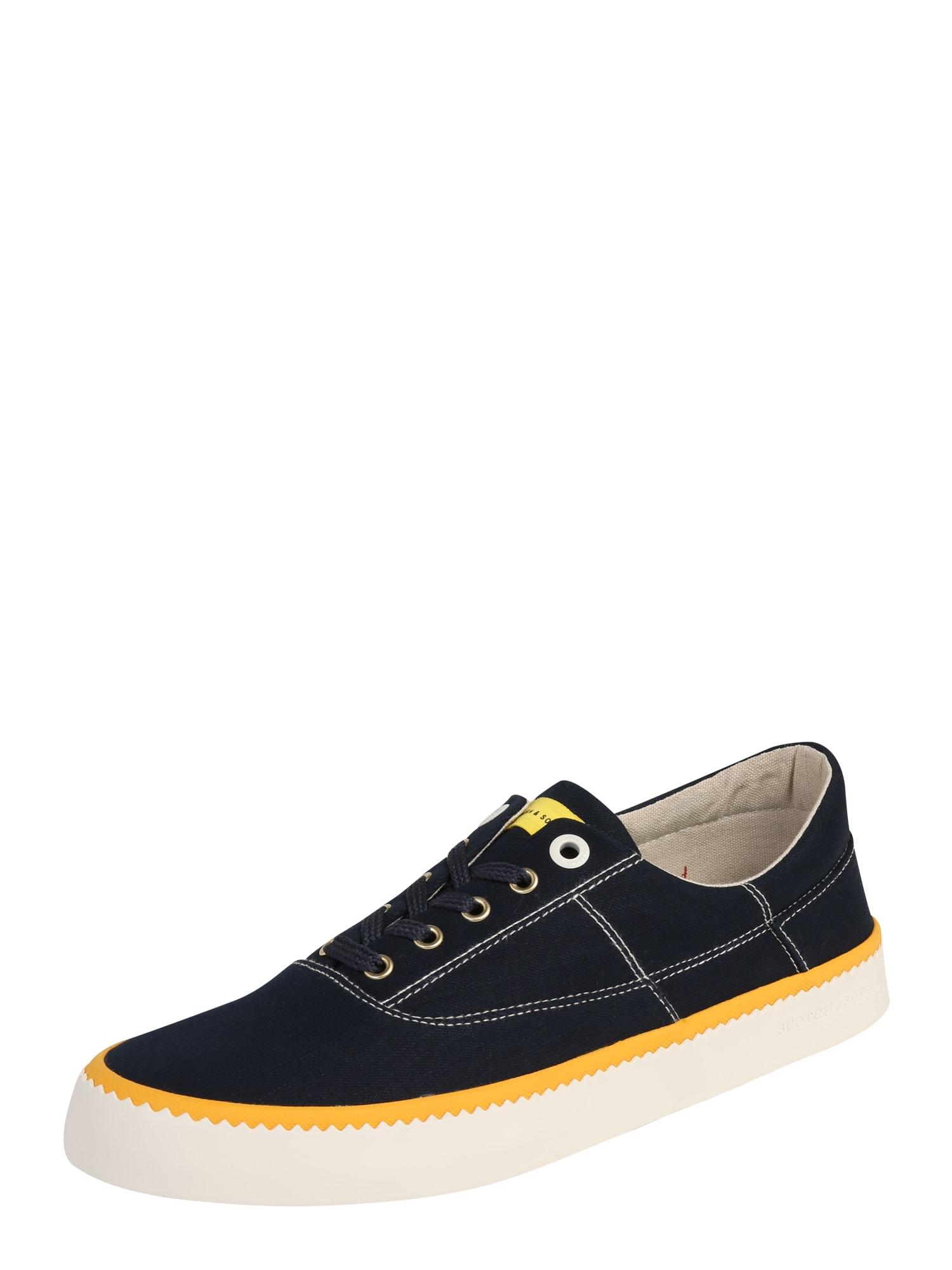 Tenisky Menton tmavě modrá žlutá SCOTCH & SODA