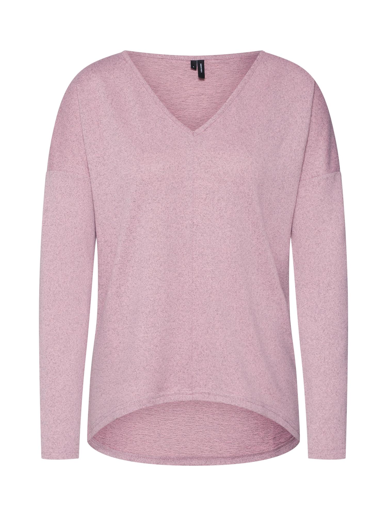 Tričko MALENA růžová VERO MODA