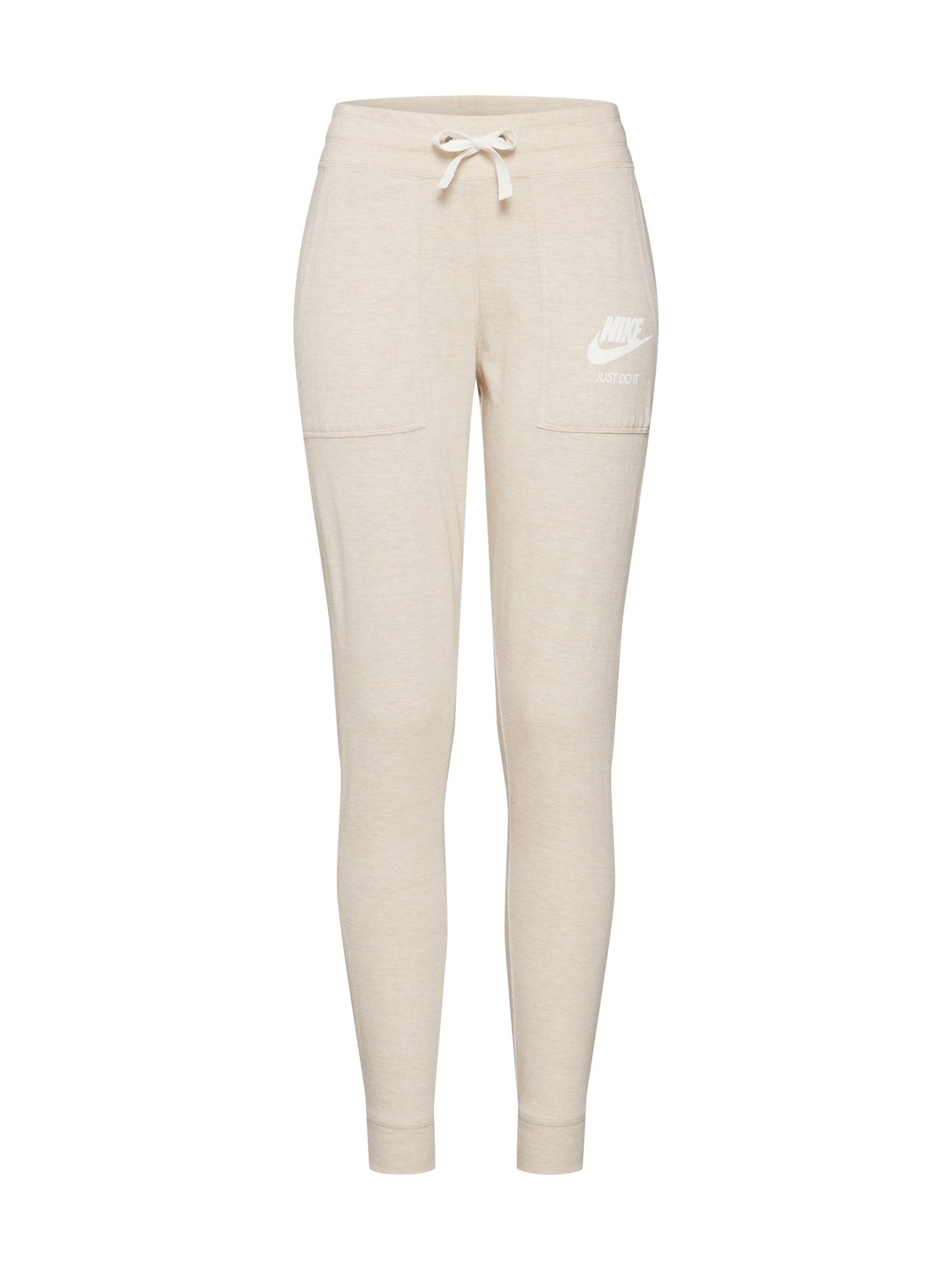 Kalhoty Vintage Pants béžová Nike Sportswear
