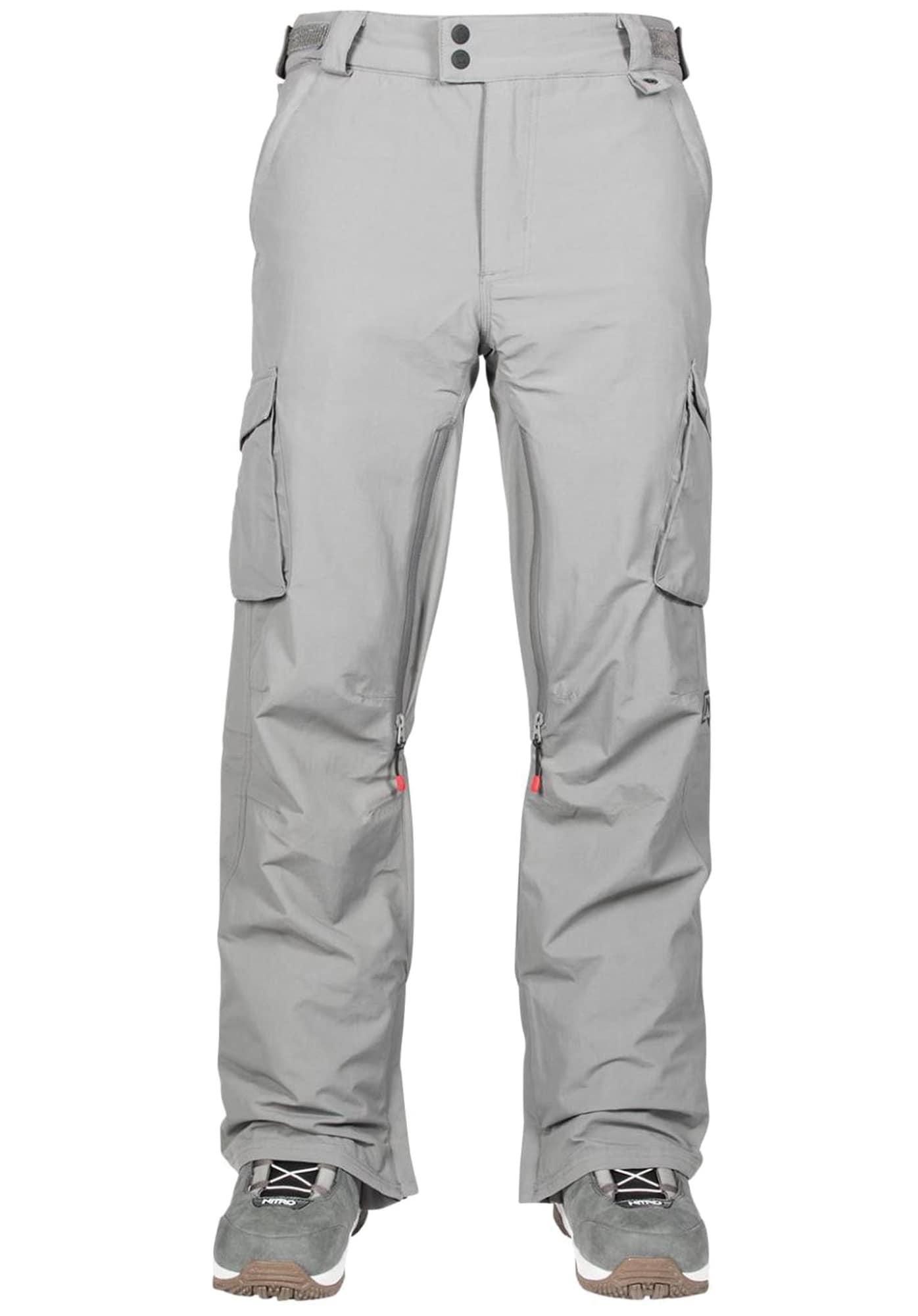 Snowboardhose 'Traverse' | Sportbekleidung > Sporthosen > Snowboardhosen | Grau | Nitro