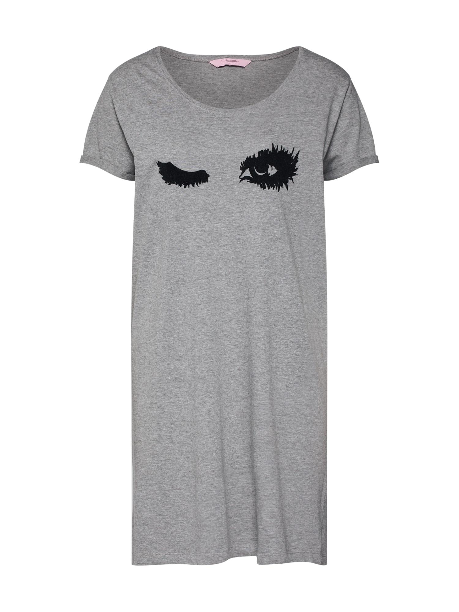 Noční košilka Fall in Love šedá Hunkemöller