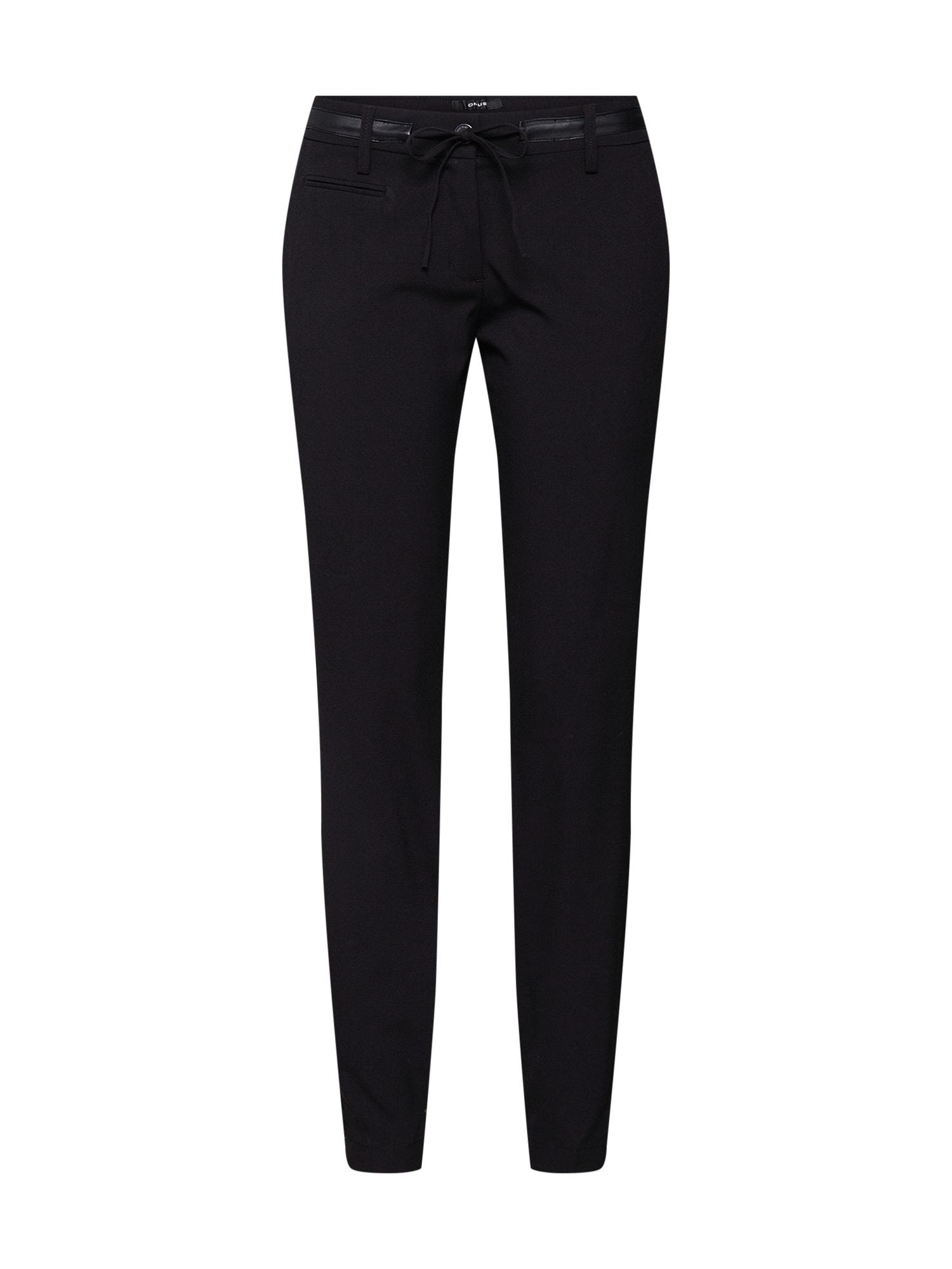 Kalhoty Mirjami černá OPUS