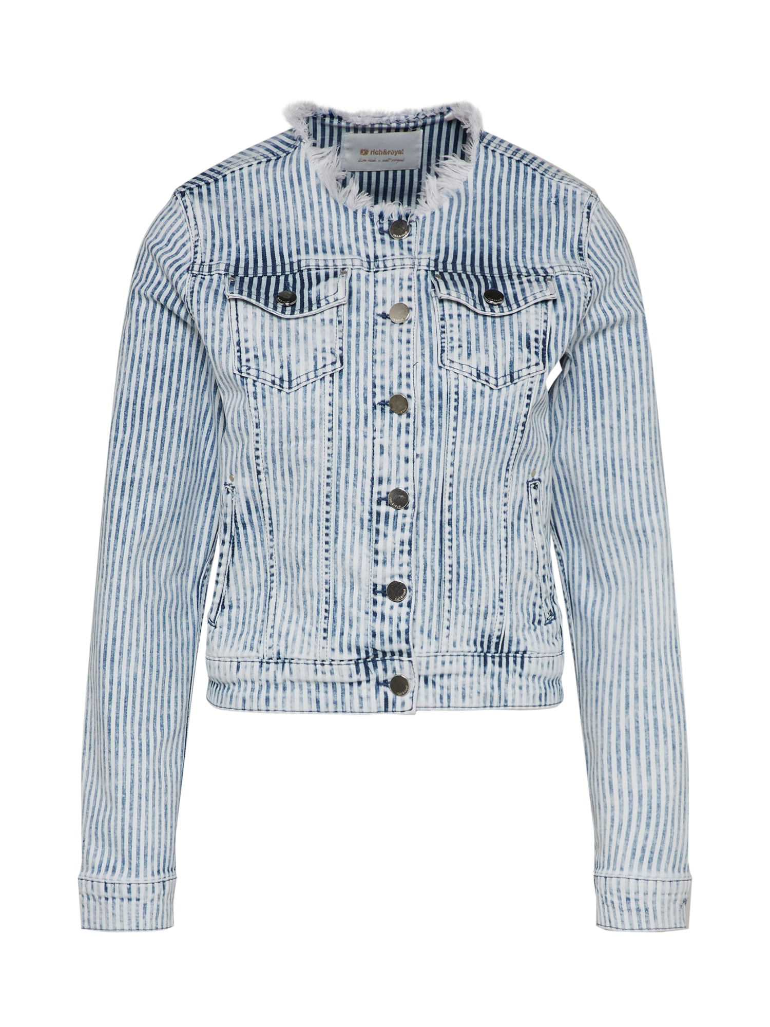 Rich & Royal, Dames Tussenjas, navy / wit