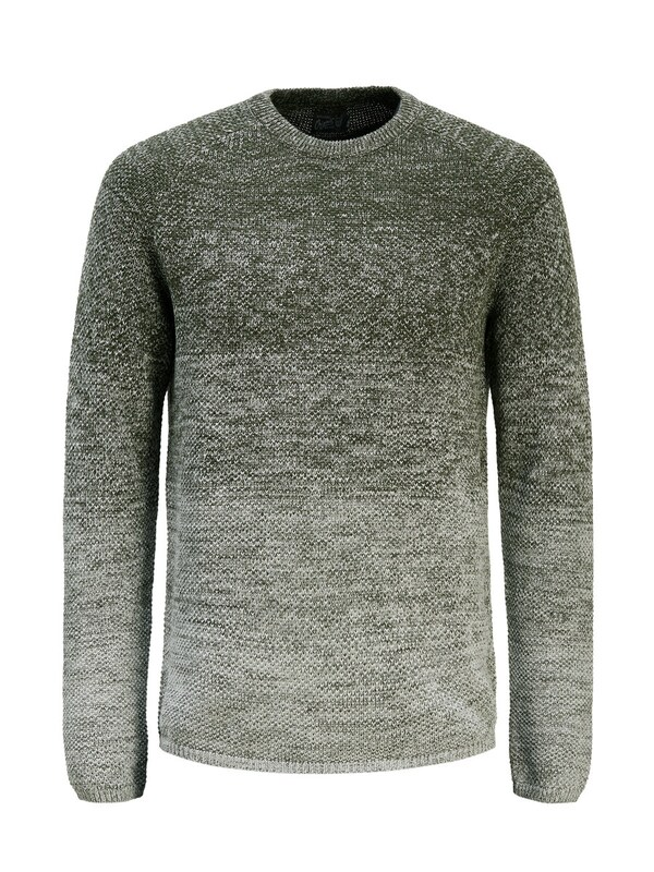 Jack & Jones Herren Pullover Jorfuel forest night - broschei