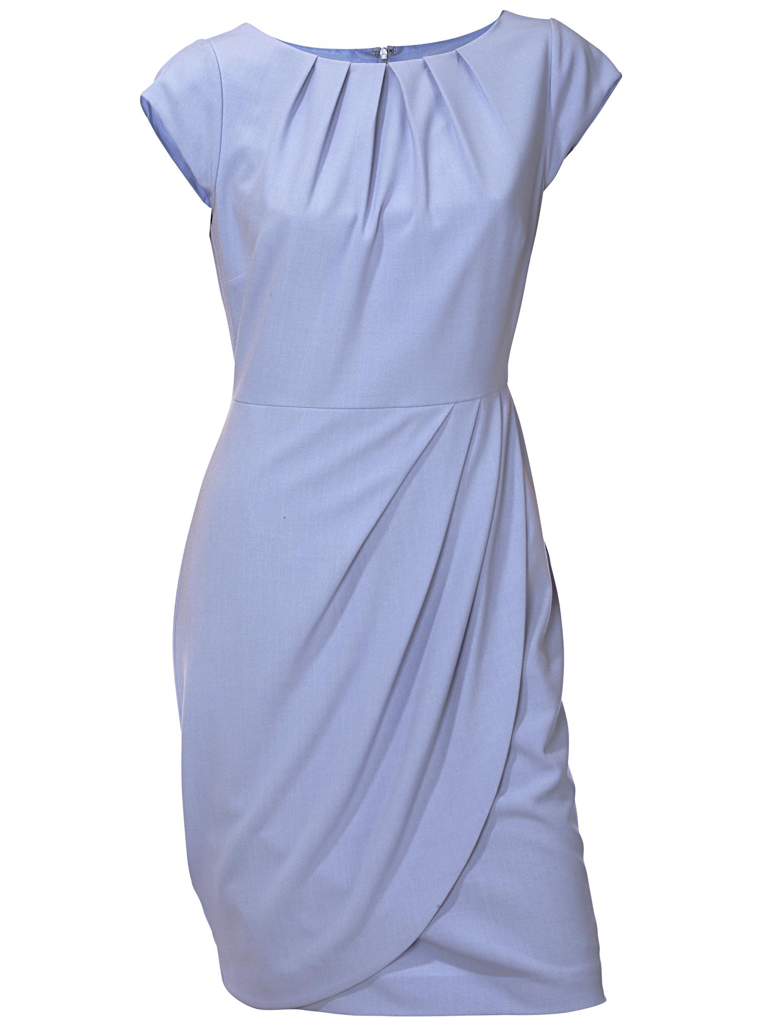 Pouzdrové šaty světlemodrá Heine