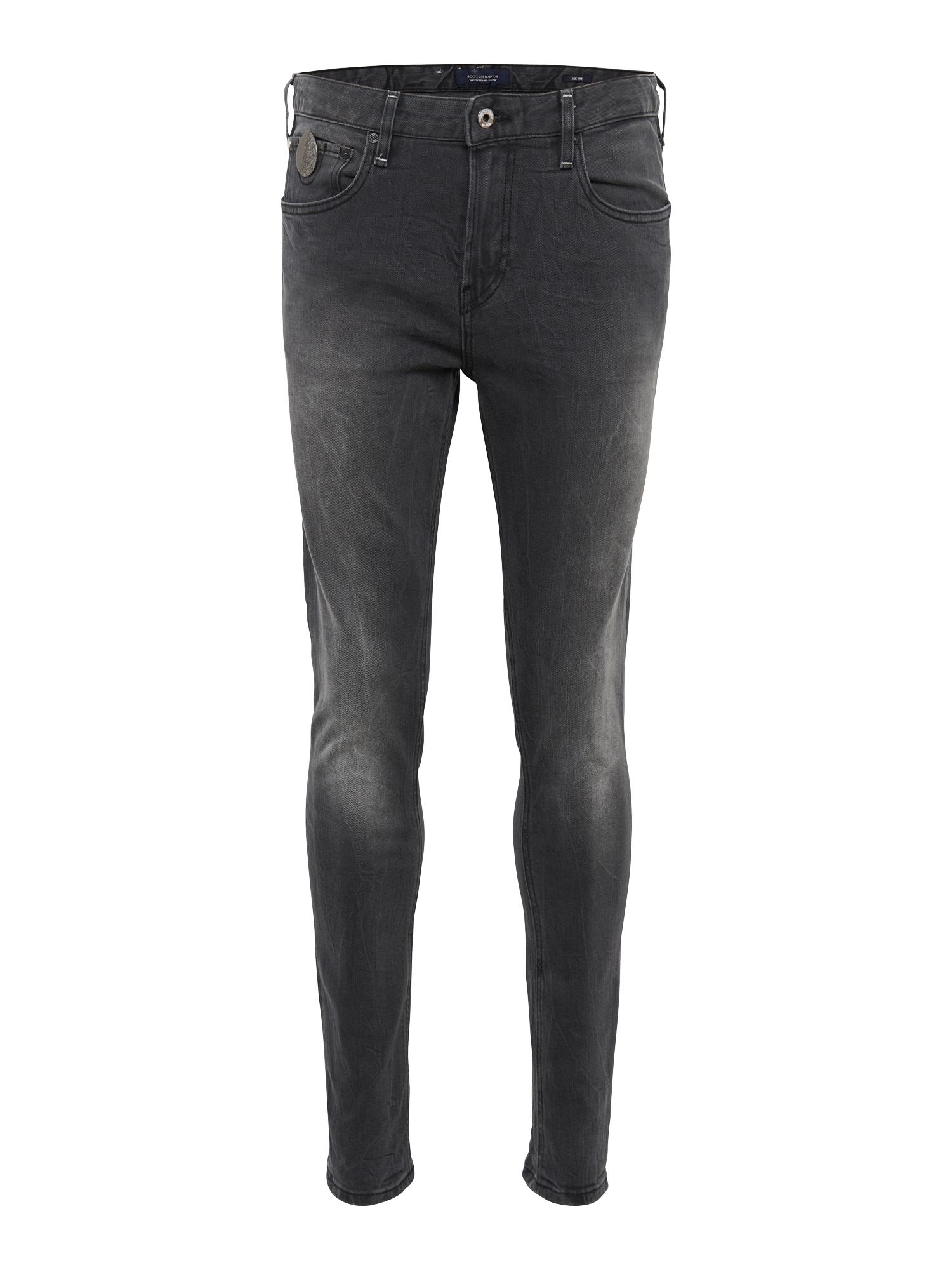 SCOTCH  and  SODA Heren Jeans Skim Dragster black denim