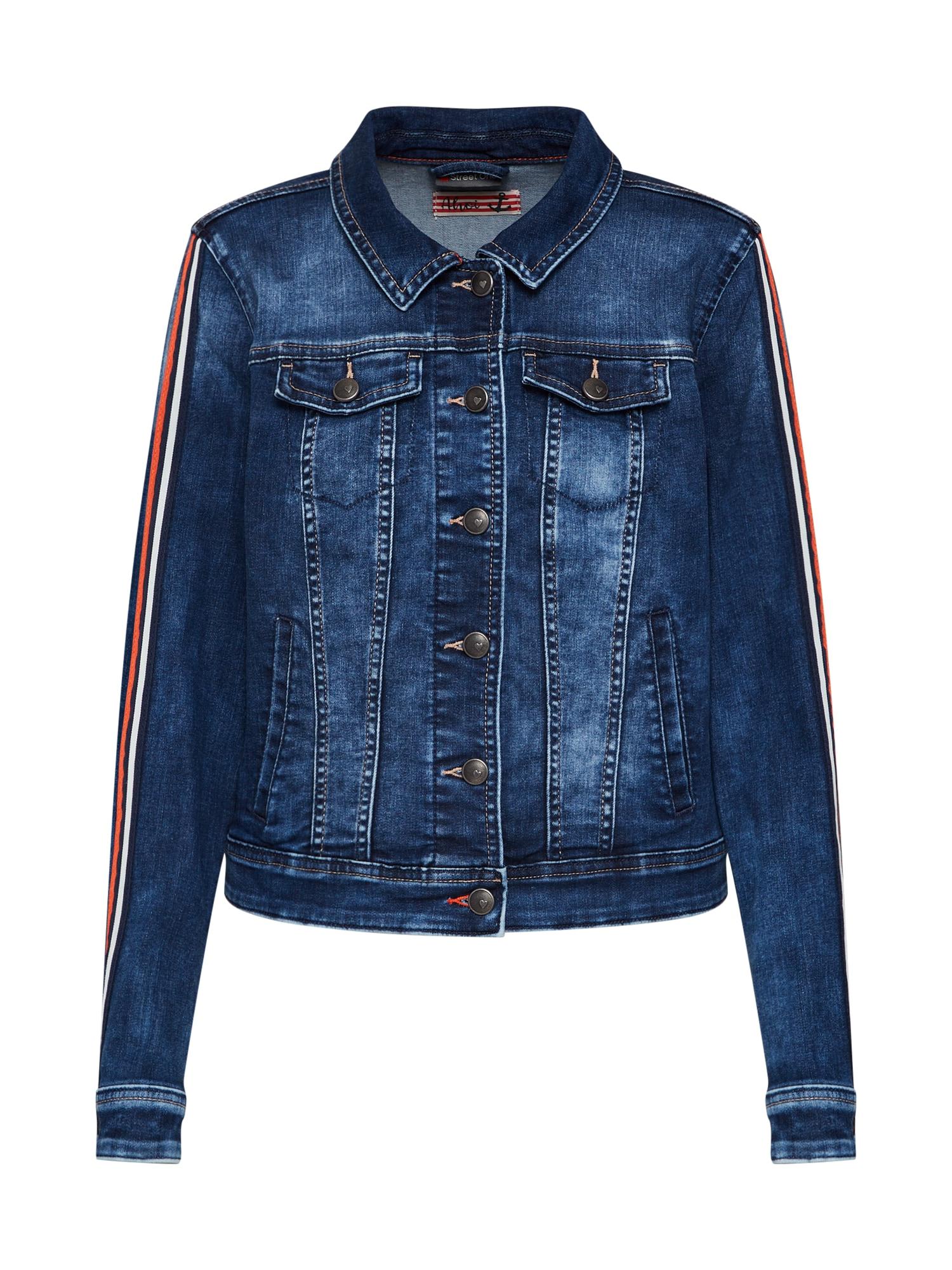Přechodná bunda modrá džínovina STREET ONE