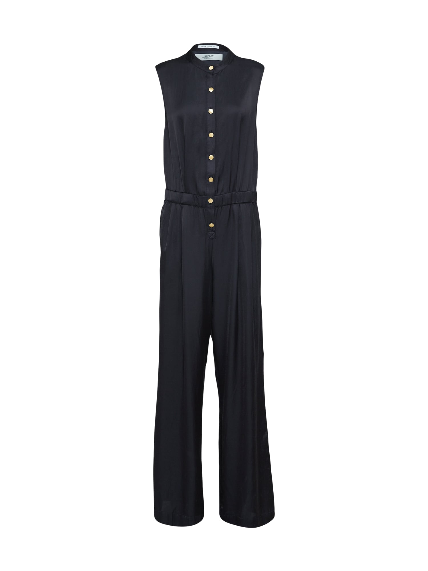 REPLAY Dames Jumpsuit zwart