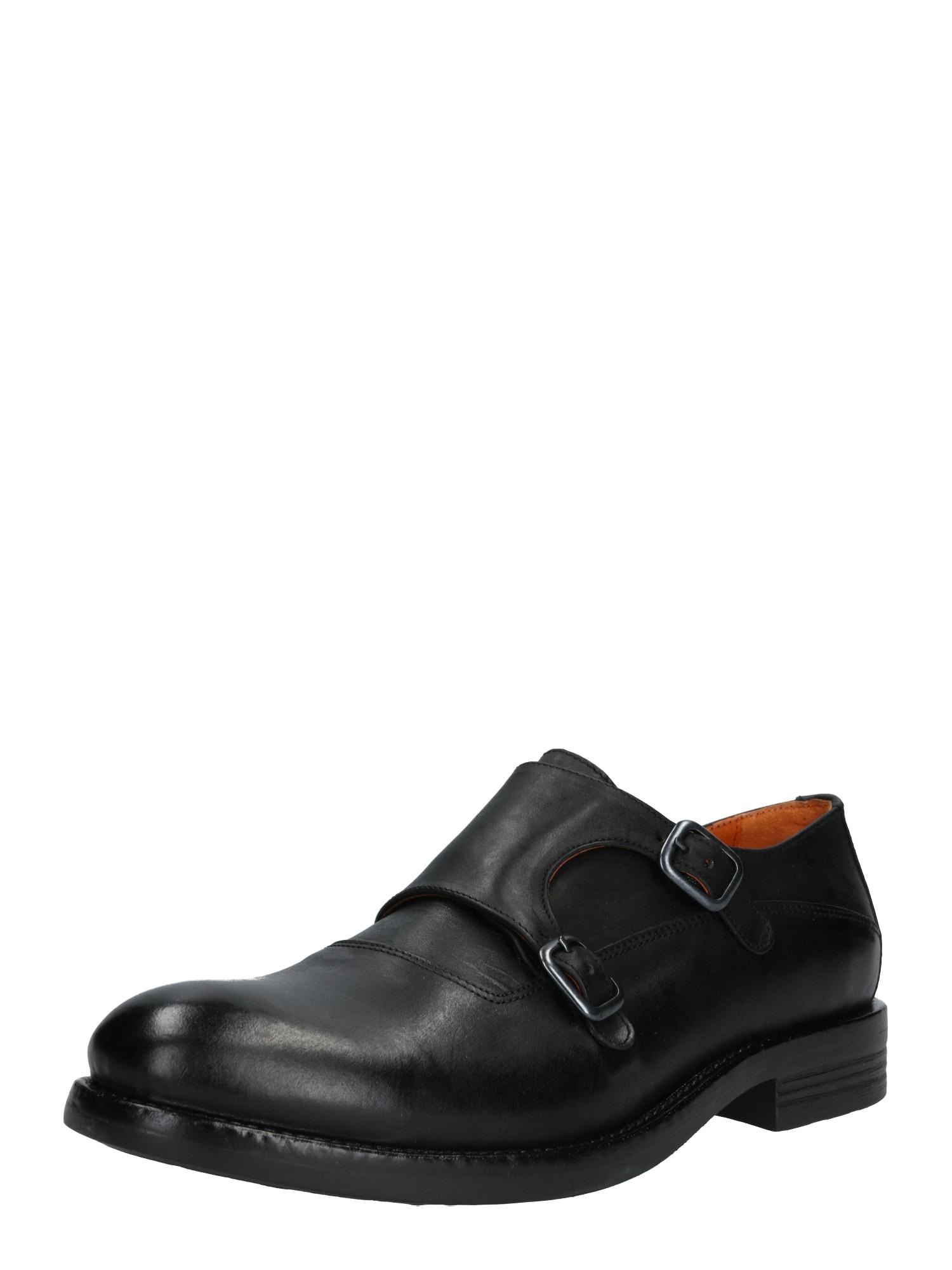 Sportovní šněrovací boty ACE černá Bianco