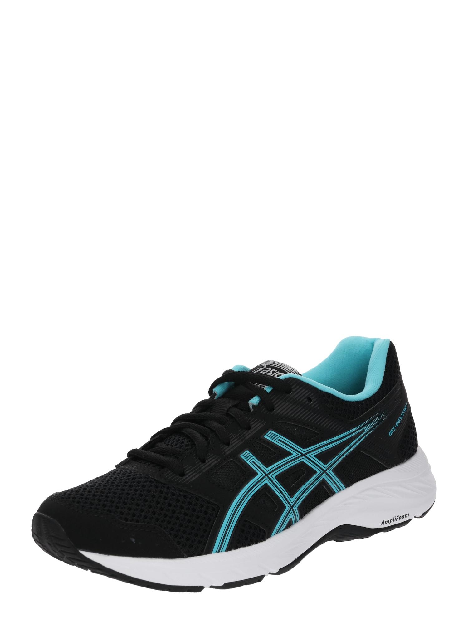 Běžecká obuv Gel-Contend 5 světlemodrá černá ASICS
