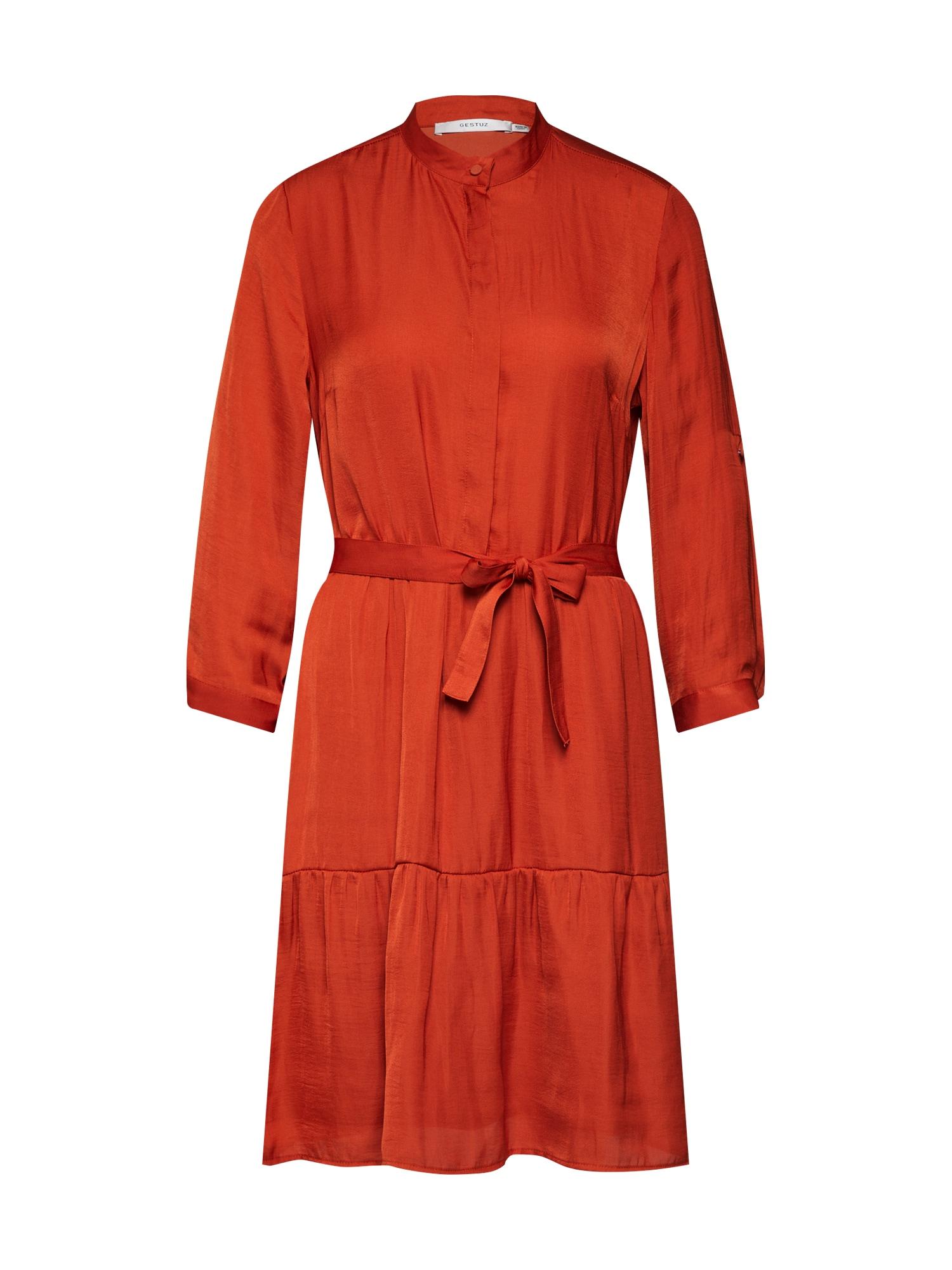 Košilové šaty IbalaGZ červená Gestuz