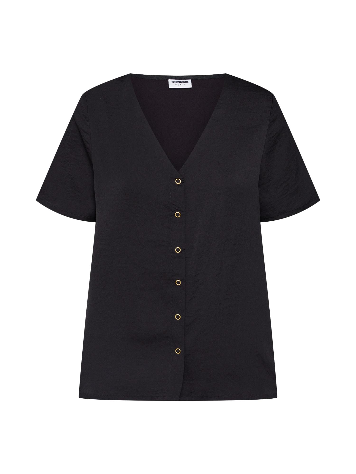 Noisy May, Dames Shirt 'NARGONI', zwart