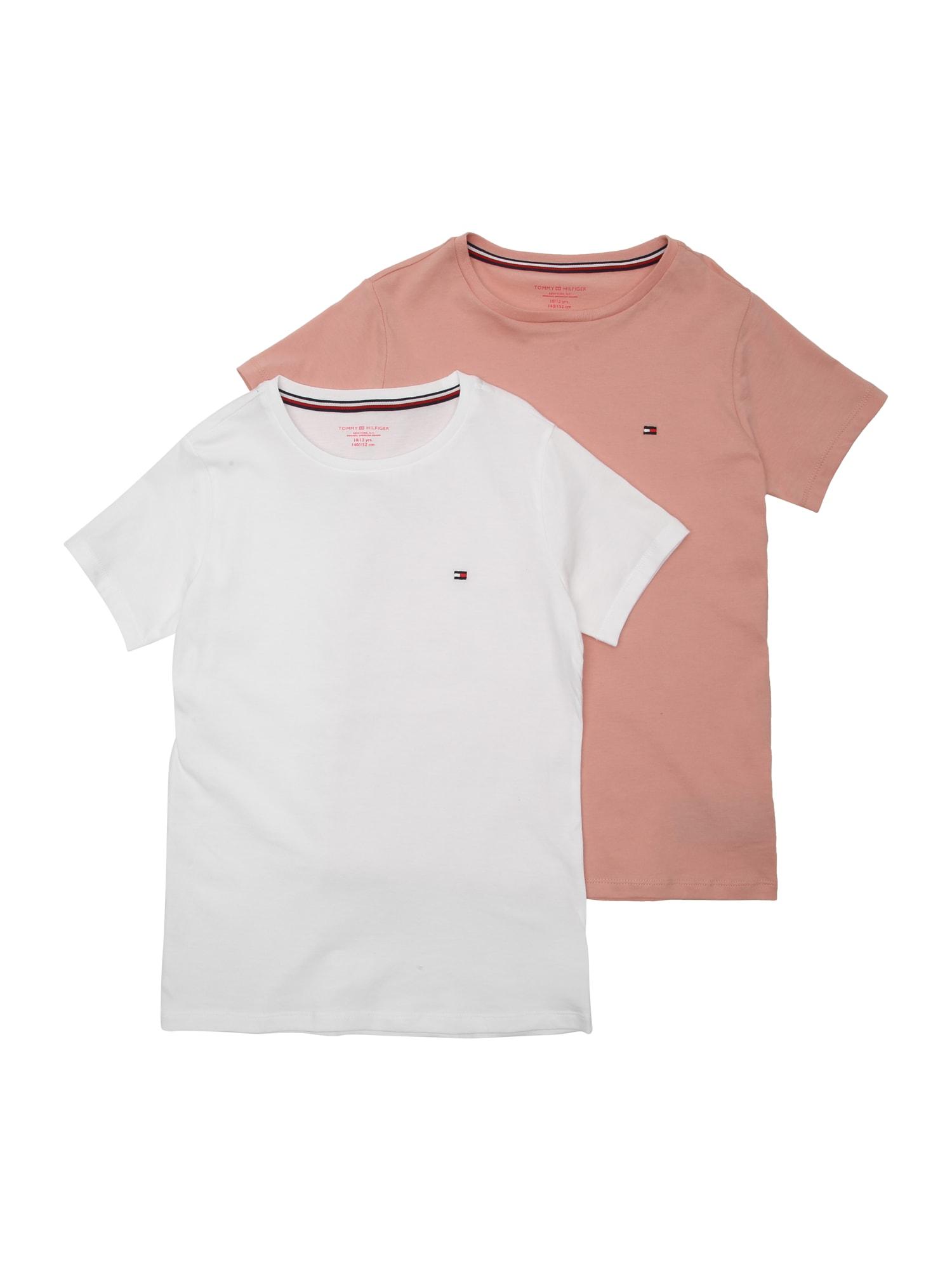 Tílko růžová bílá Tommy Hilfiger Underwear