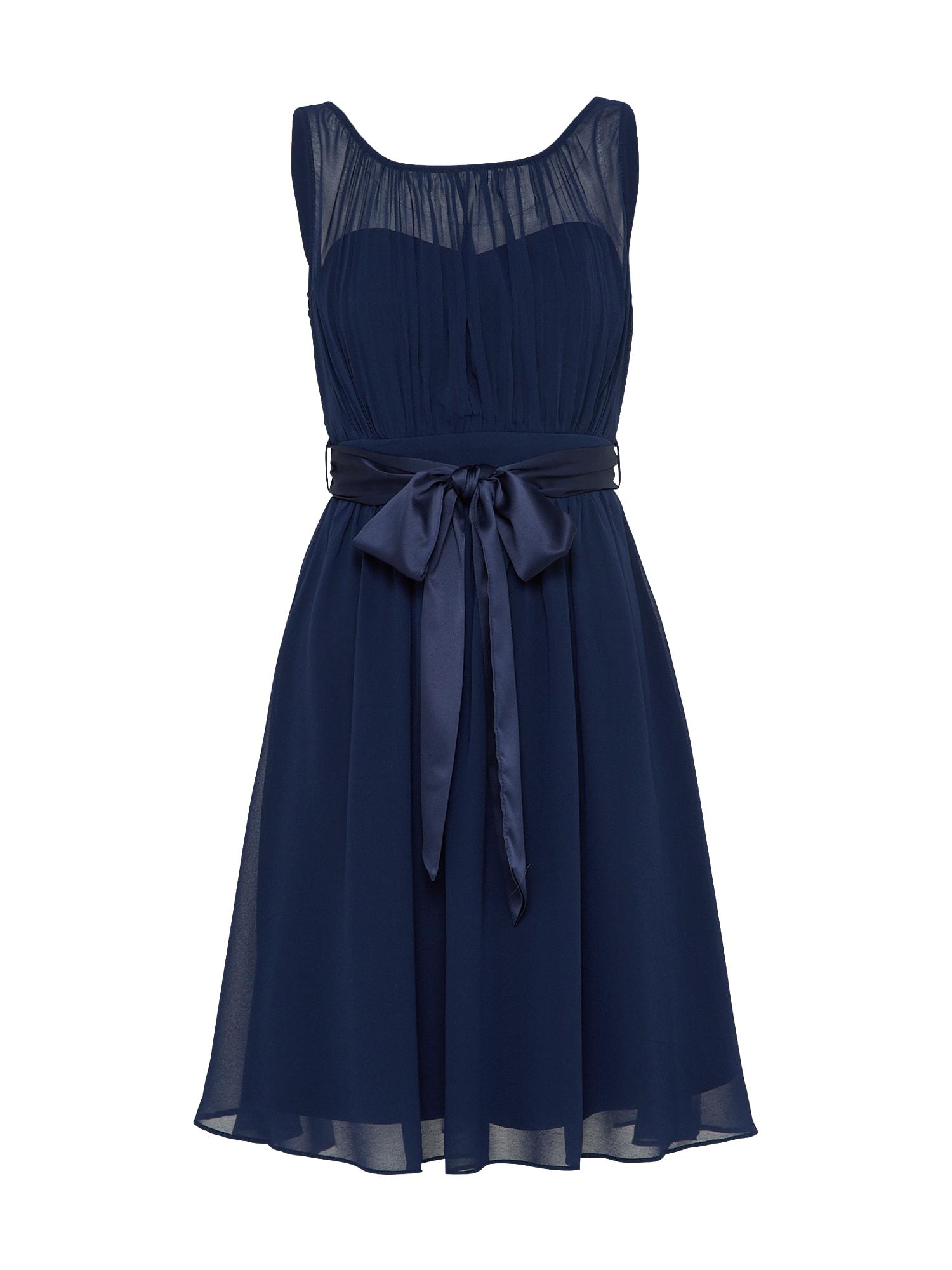 Koktejlové šaty Beth námořnická modř Dorothy Perkins Occasion
