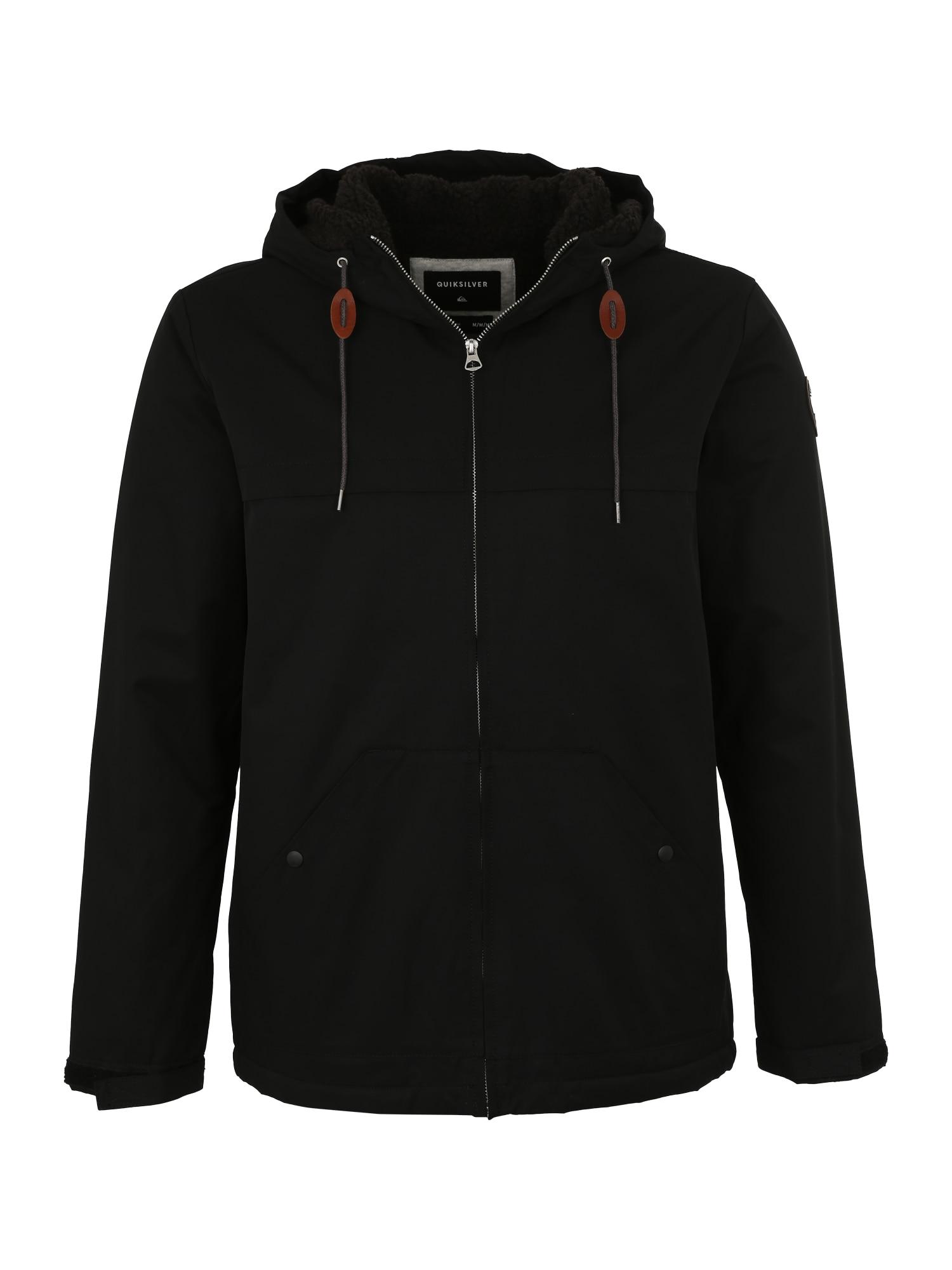 Outdoorová bunda WANNA černá QUIKSILVER