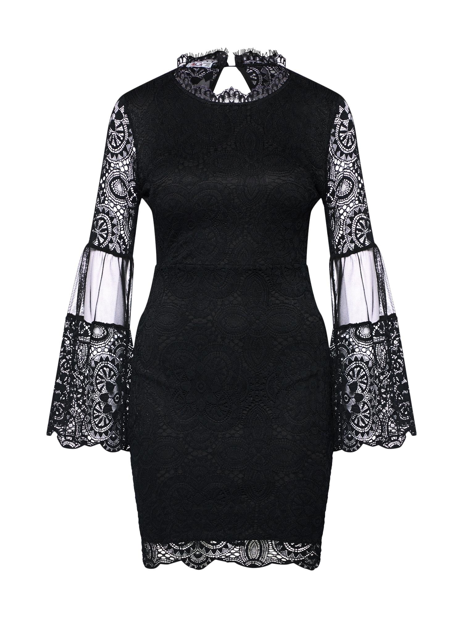 WAL G., Dames Cocktailjurk 'Dress', zwart