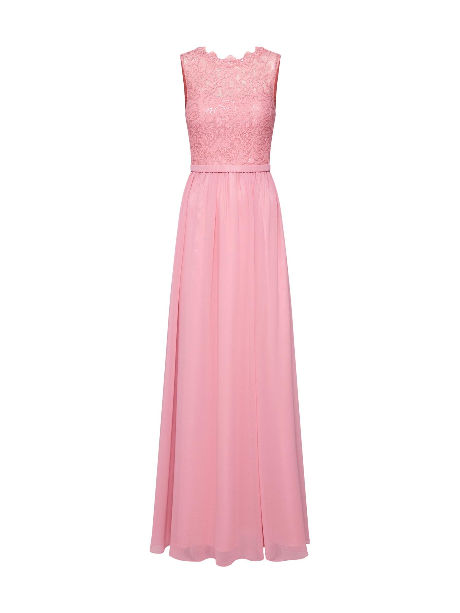 Společenské šaty pink Unique