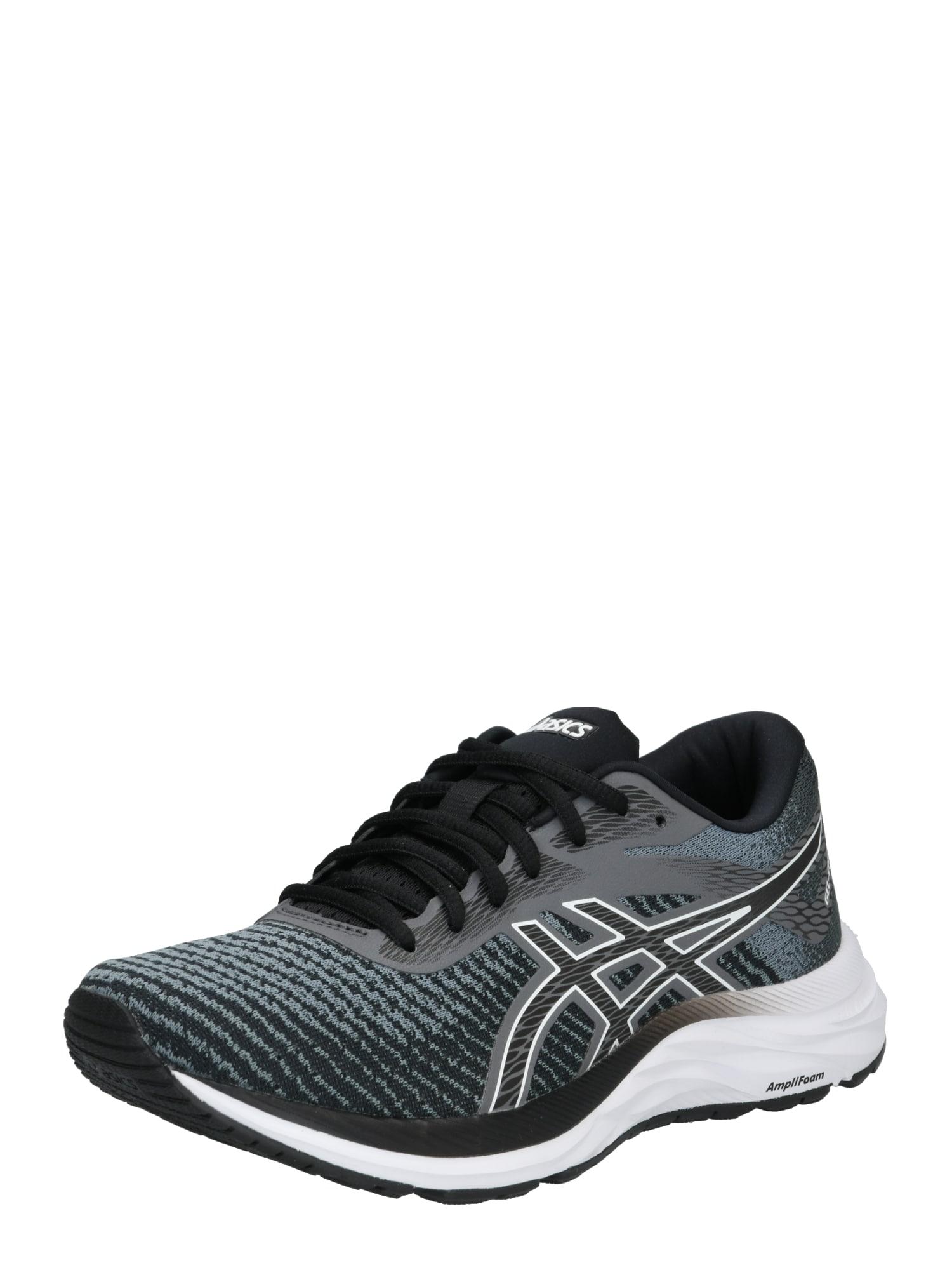 Běžecká obuv GEL-EXCITE 6 TWIST šedá černá bílá ASICS