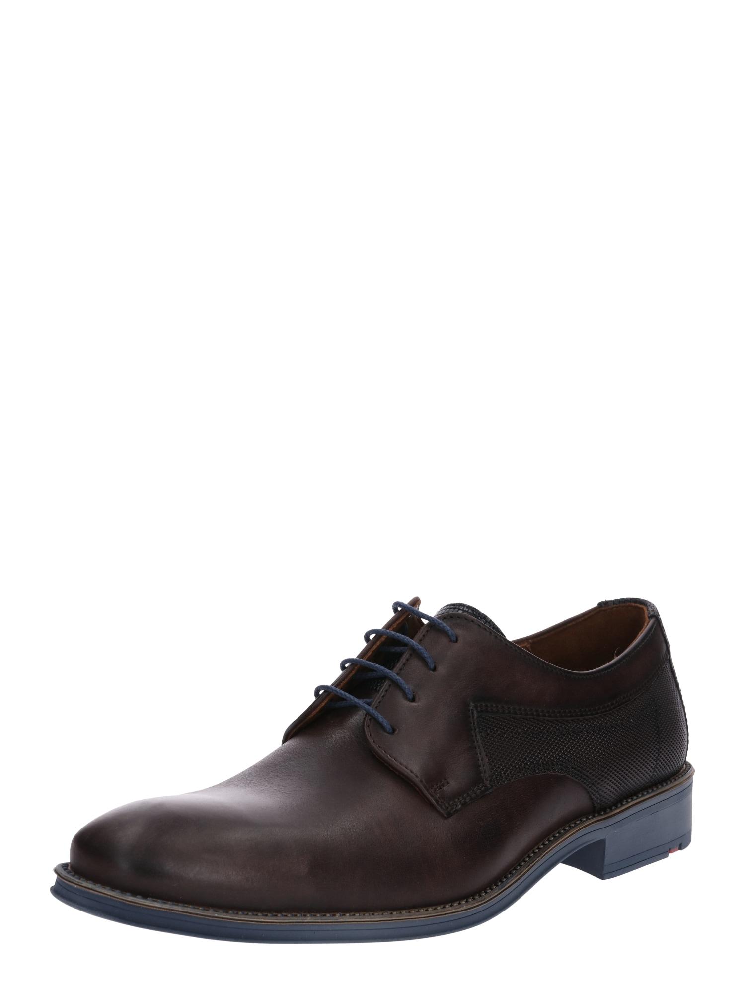 Šněrovací boty Genf tmavě hnědá LLOYD