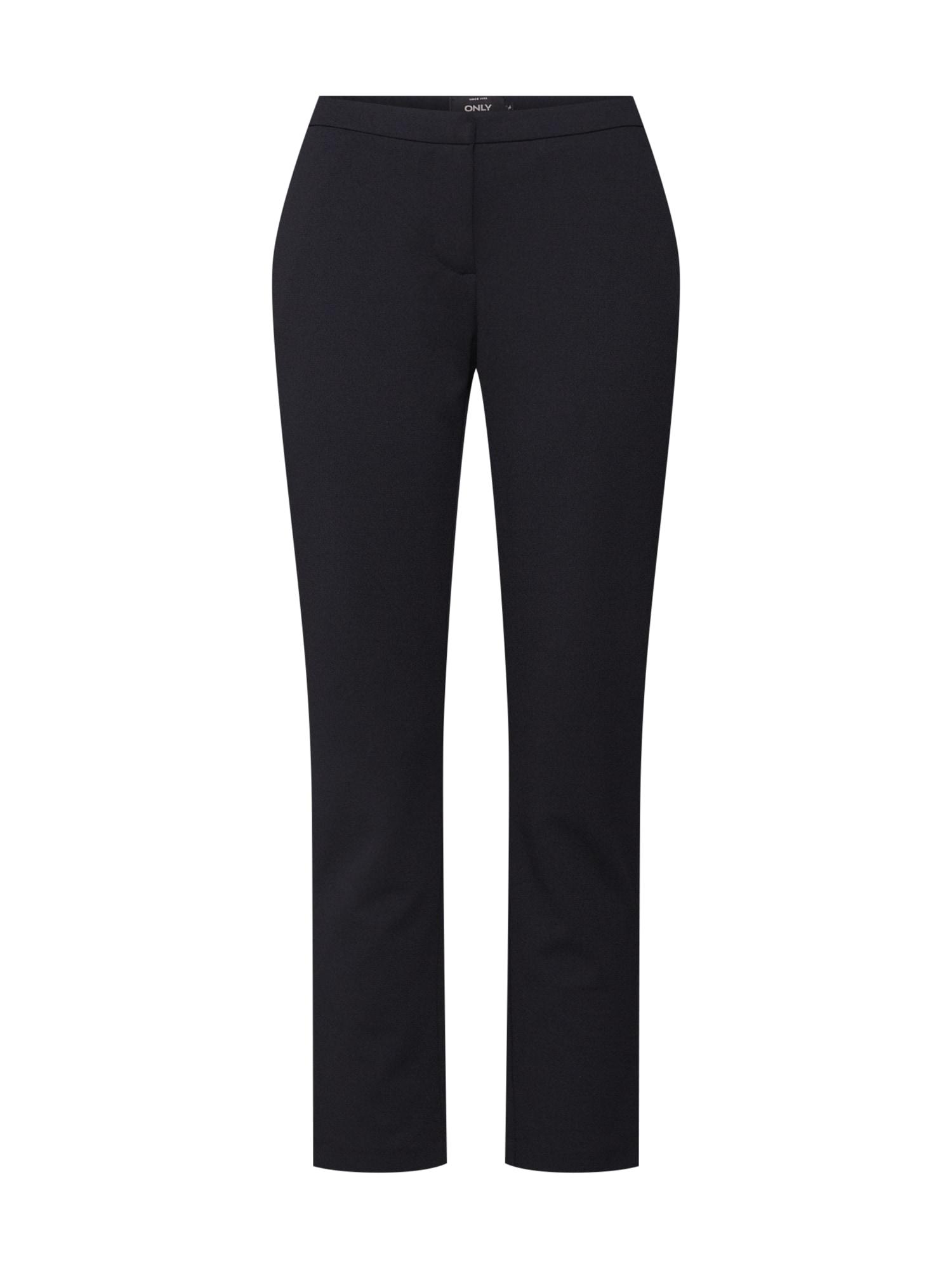Kalhoty onlCAROLINA CIGARETTE PANTS CC TLR černá ONLY