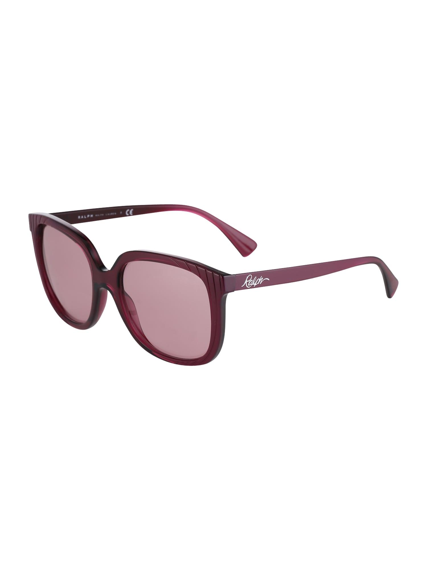 Sluneční brýle pink RALPH LAUREN