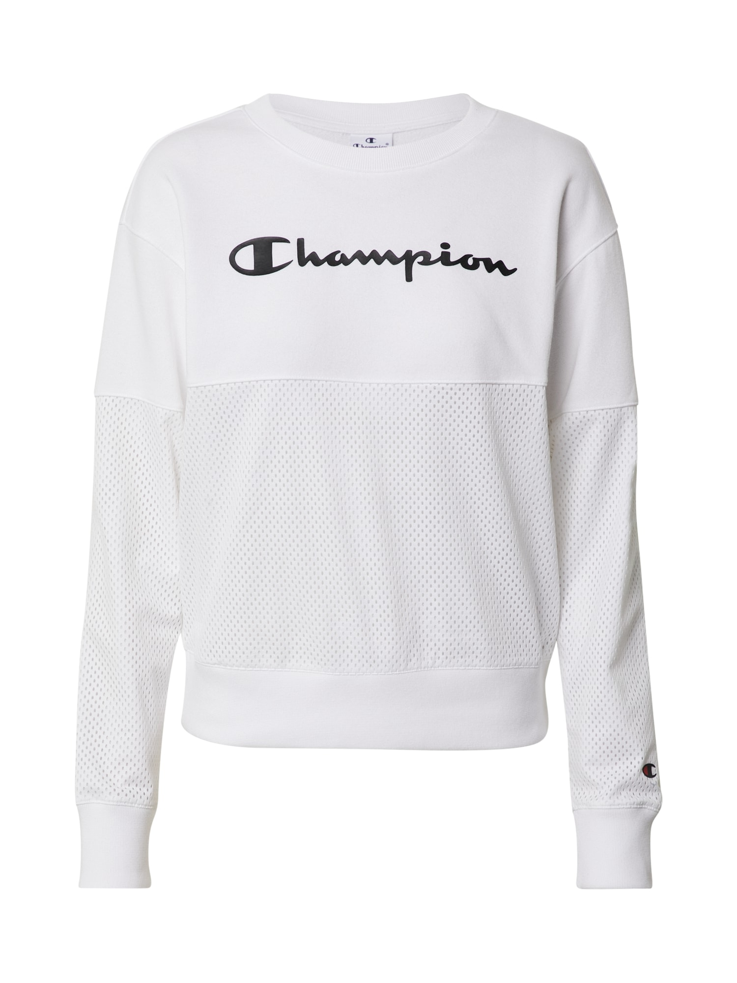 Champion Authentic Athletic Apparel Mikina  bílá