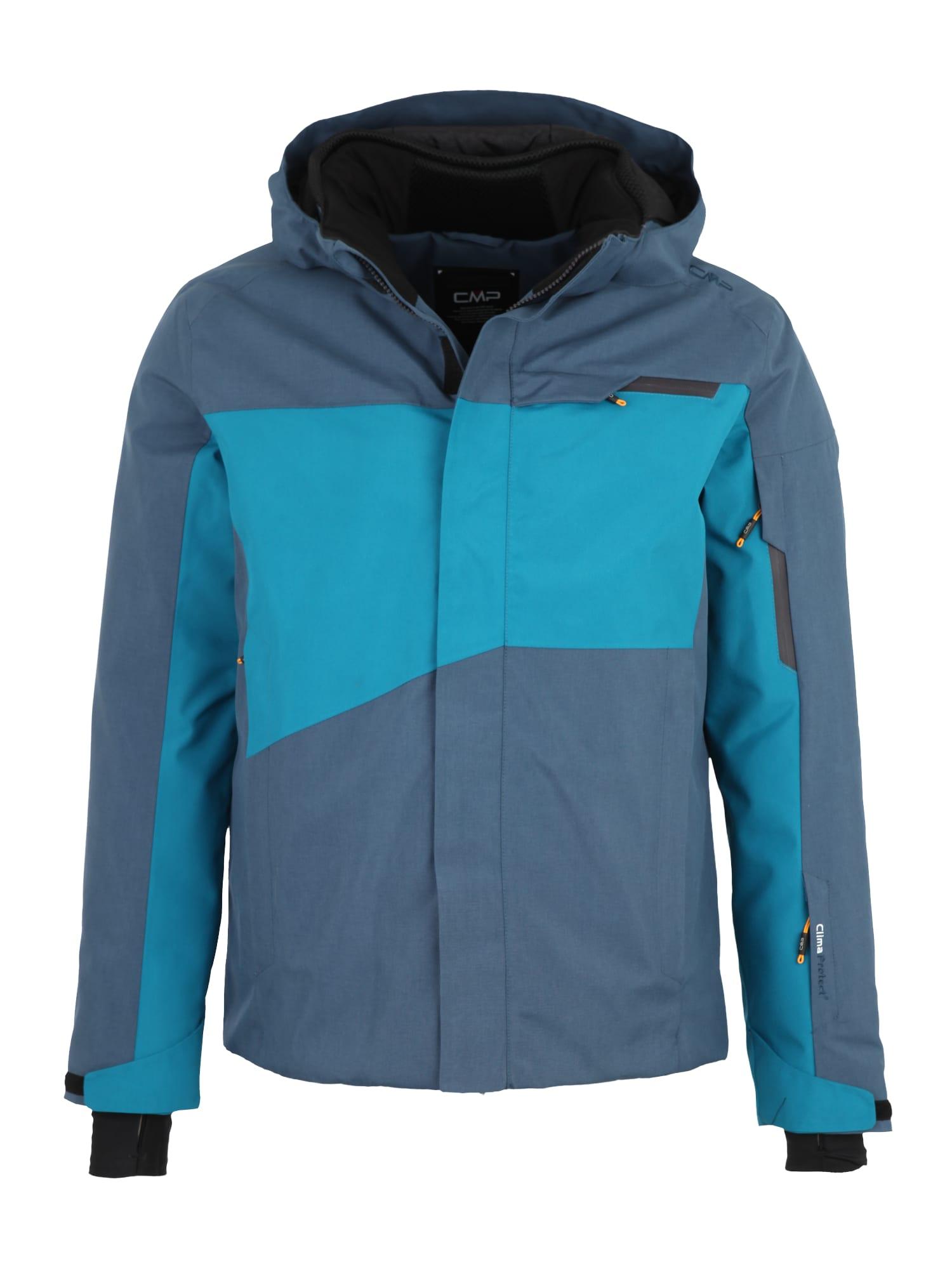 Sportovní bunda chladná modrá nebeská modř CMP