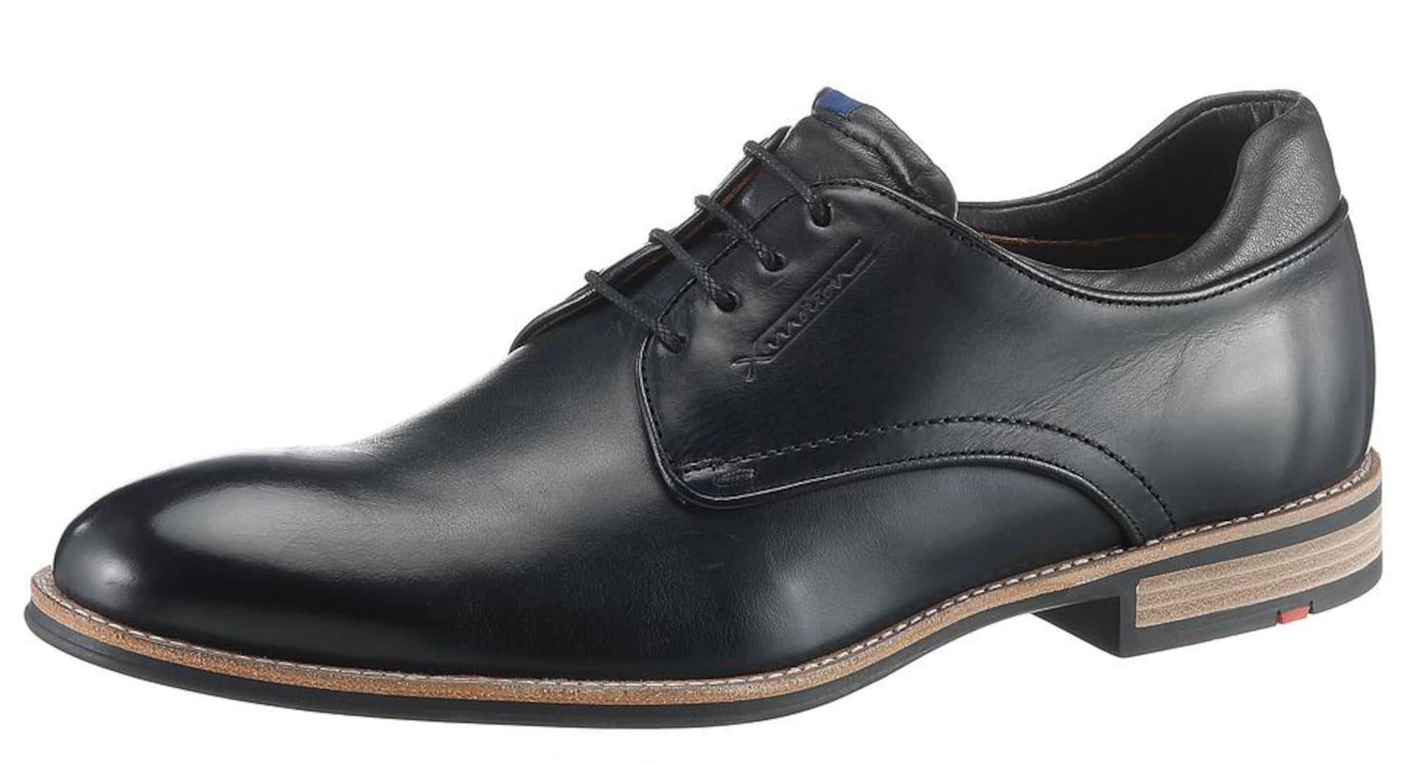 Šněrovací boty Massimo černá LLOYD