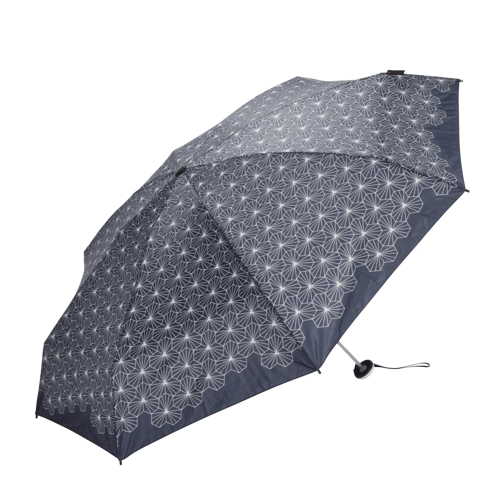 Regenschirm 'X1 Lotus' | Accessoires > Regenschirme > Sonstige Regenschirme | Grau - Schwarz | knirps
