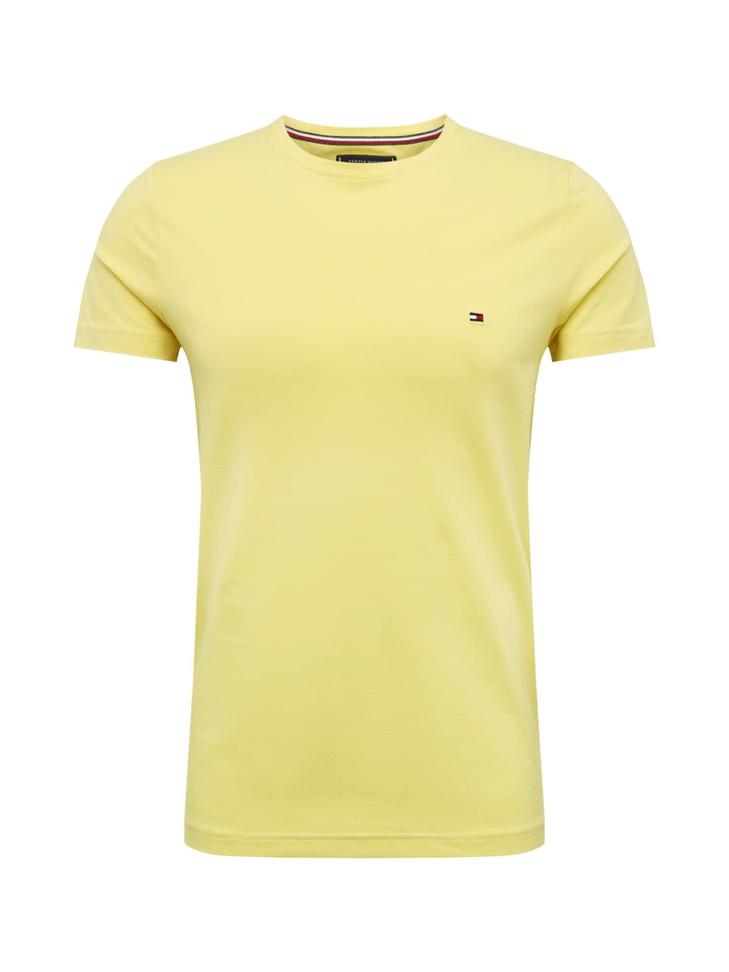 Tričko žlutá TOMMY HILFIGER