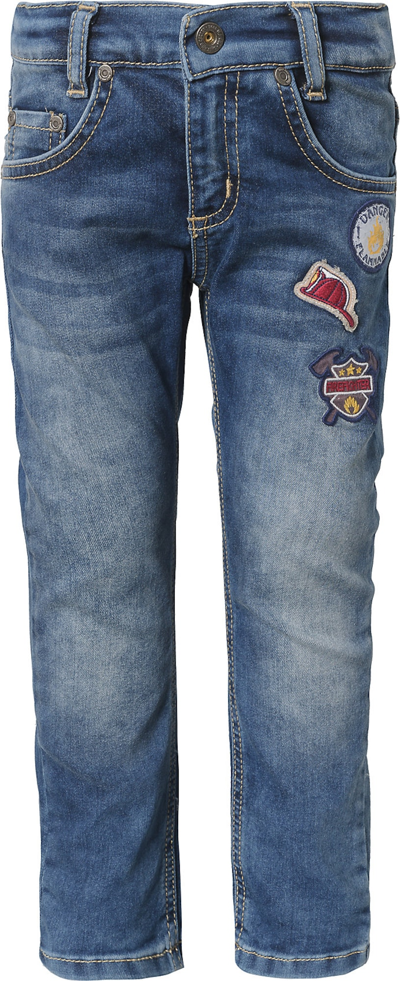 Miniboyhosen - Jeans mit Patches - Onlineshop ABOUT YOU