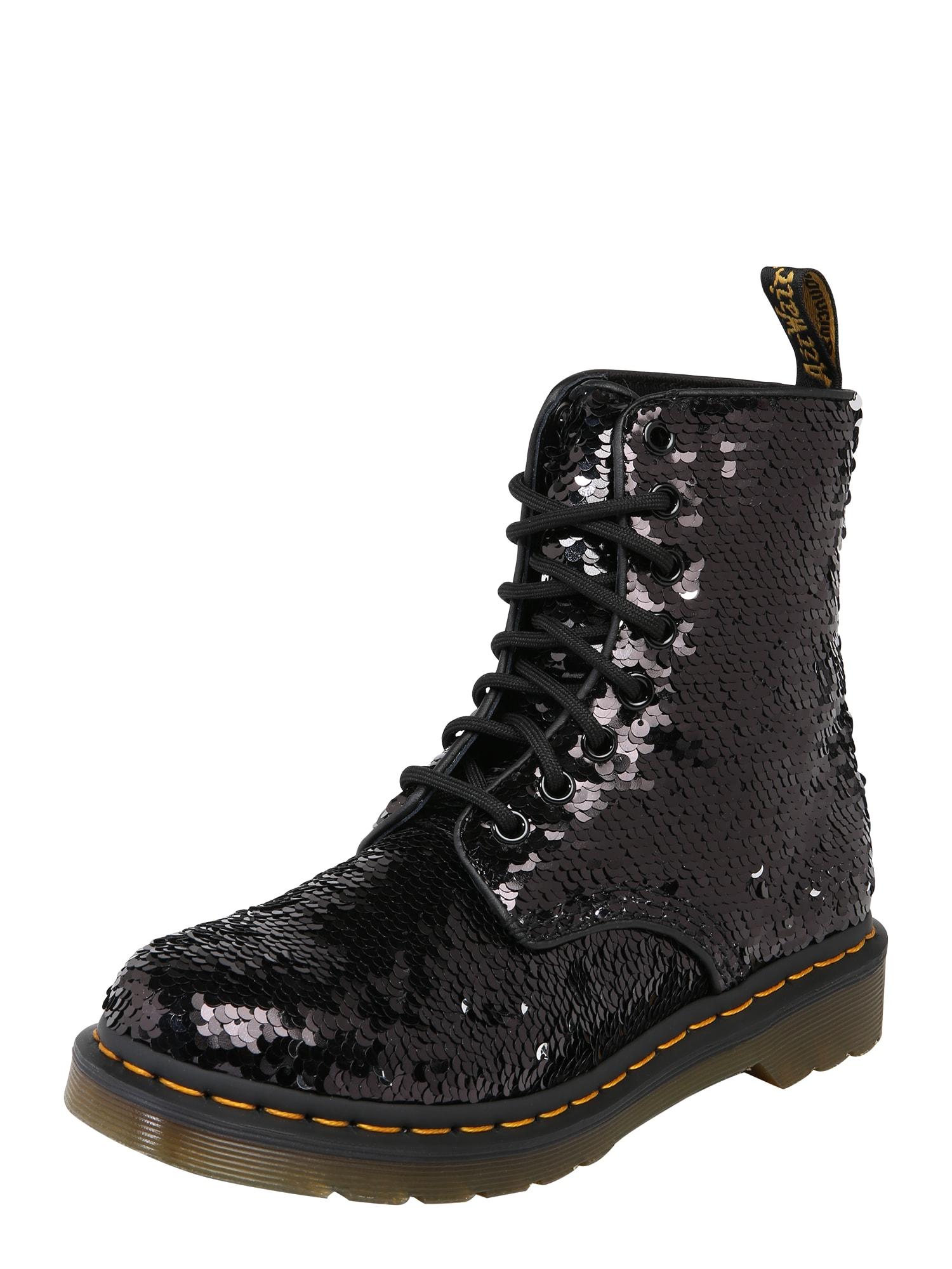 Šněrovací boty 8 Eye Boot 1460 černá Dr. Martens