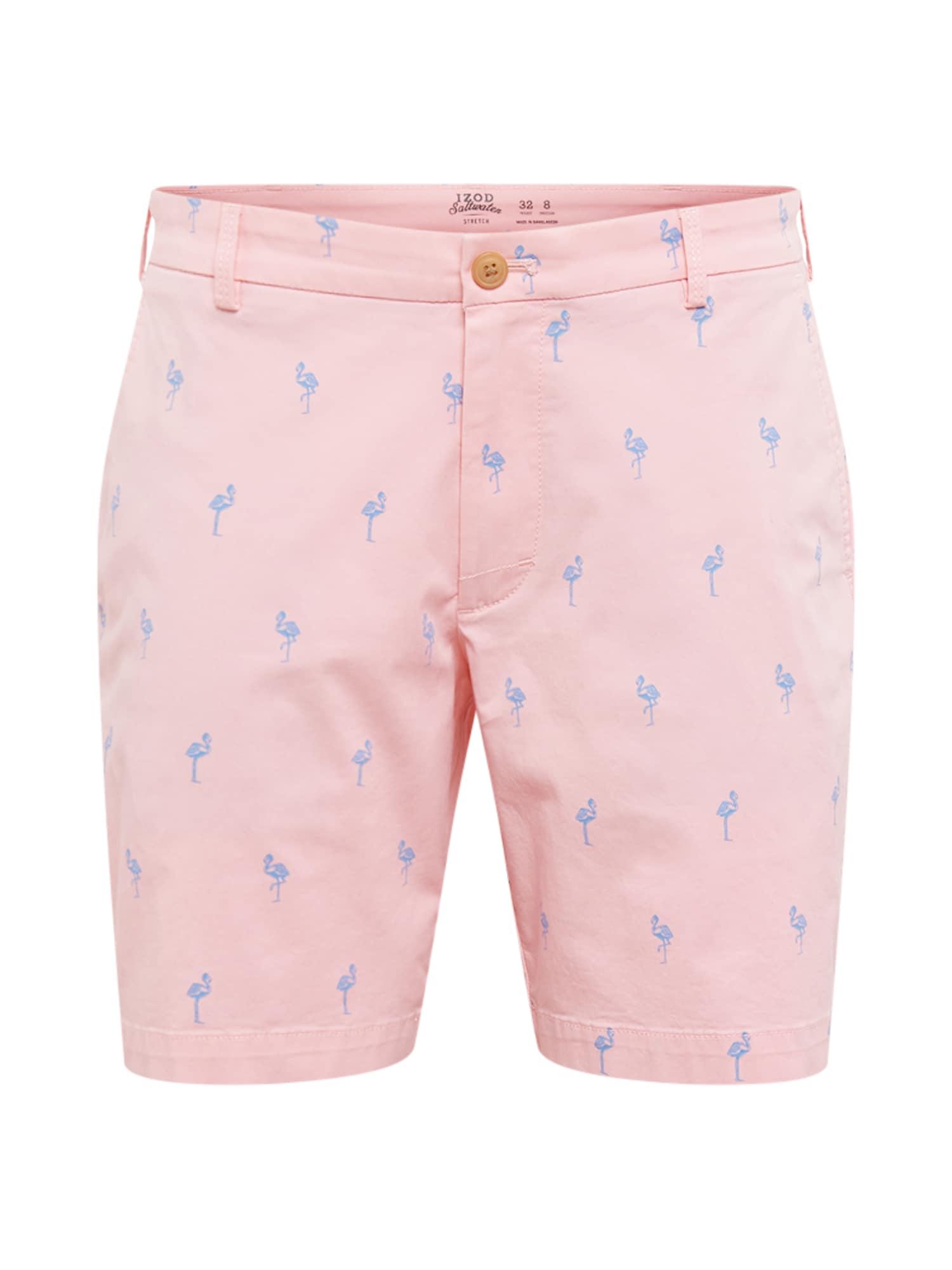Kalhoty SALTWATER BEACHTOWN modrá růžová IZOD