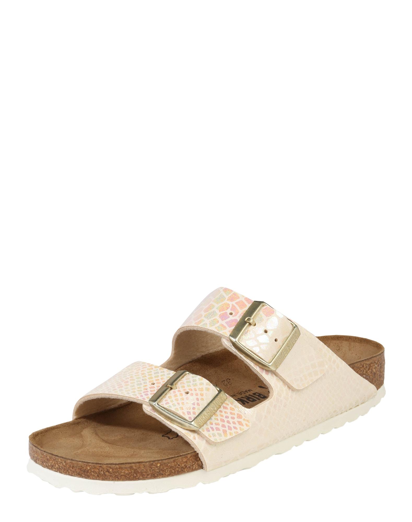 Pantofle Arizona krémová BIRKENSTOCK