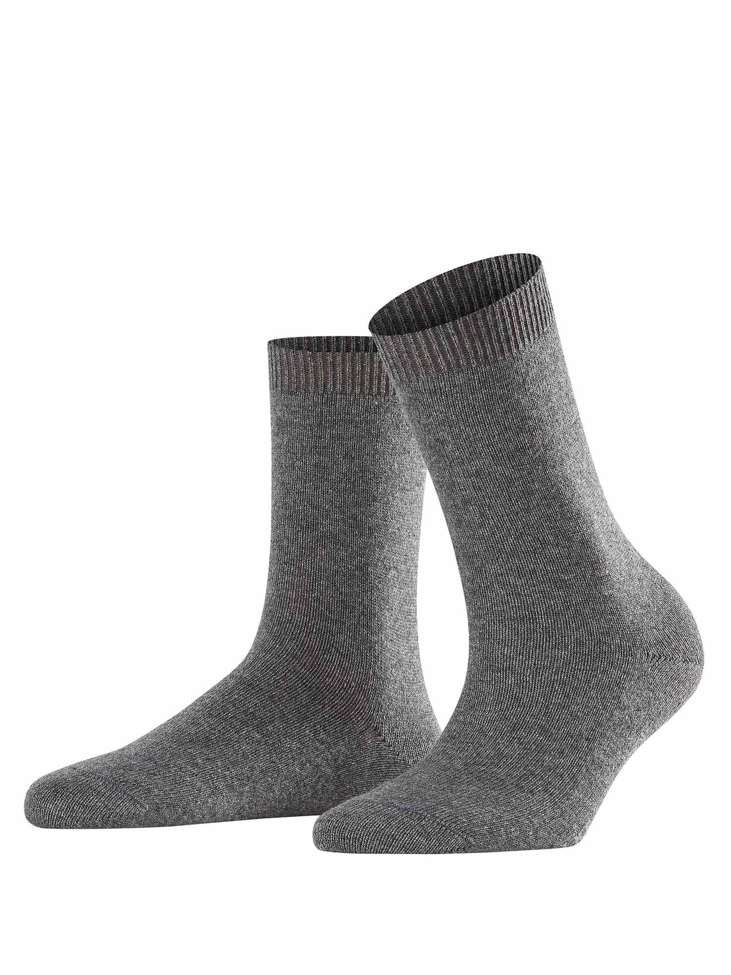 Ponožky Cosy Wool světle šedá FALKE