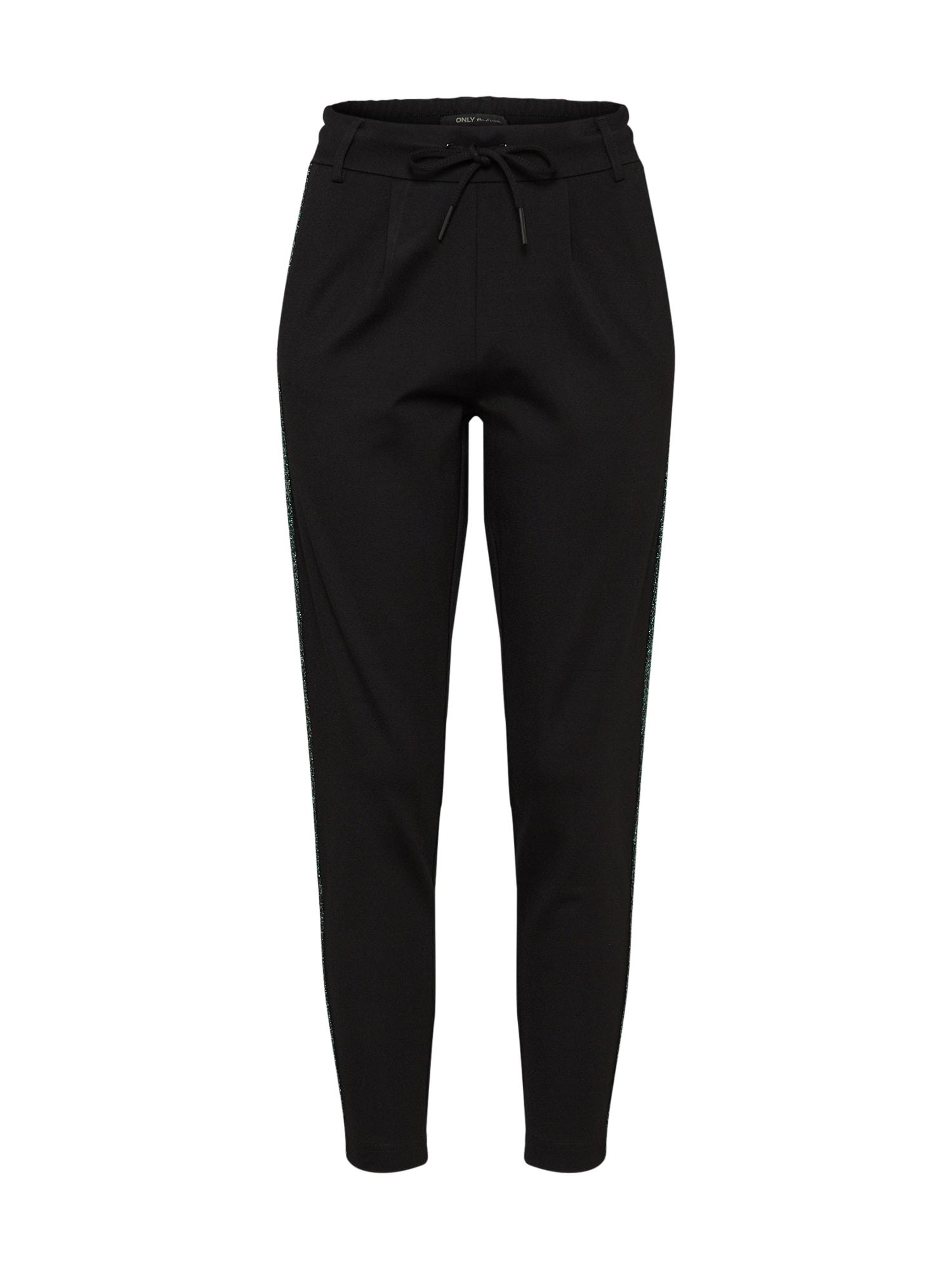 Kalhoty onlPOPTRASH EASY NEW SPORTY PNT NOOS černá ONLY