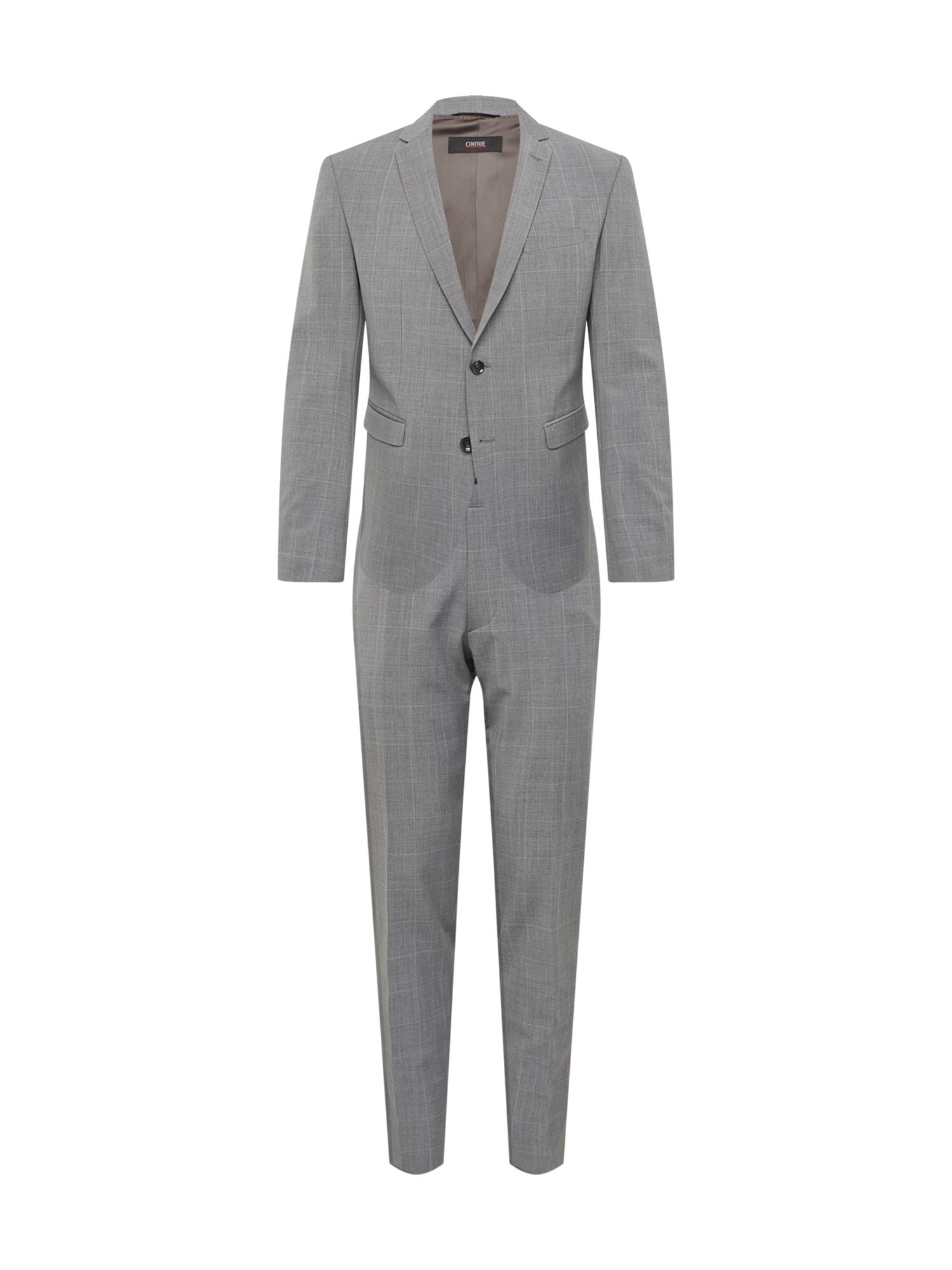 Oblek CIPULETTI šedá CINQUE