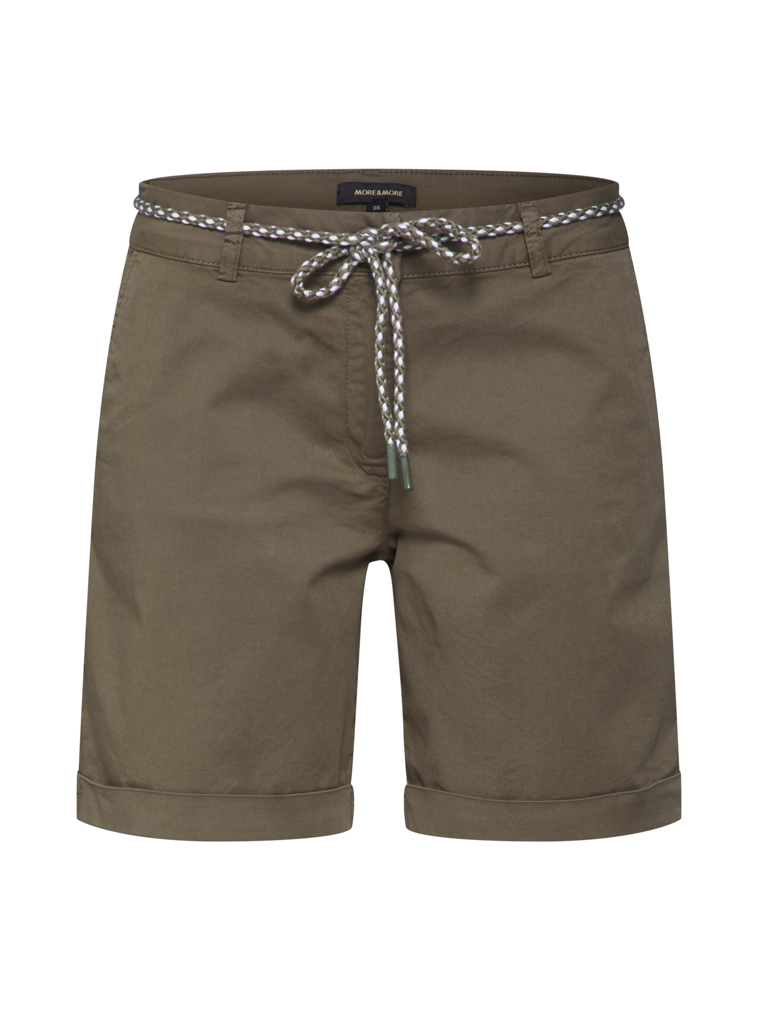 Kalhoty CO-Twill zelená MORE & MORE